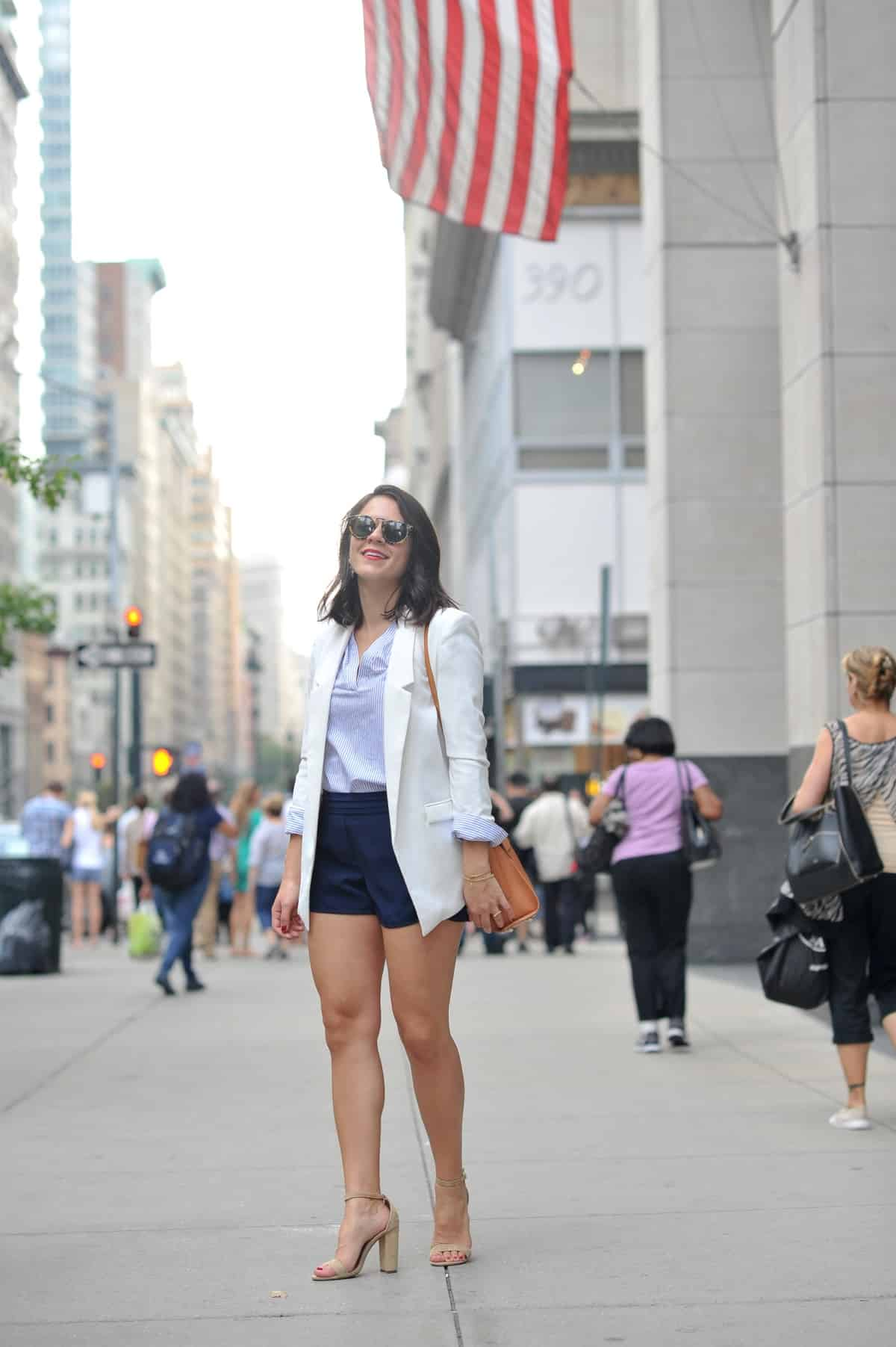 blue and white outfit ideas, outfit ideas for fashion week, - My Style Vita @mystylevita