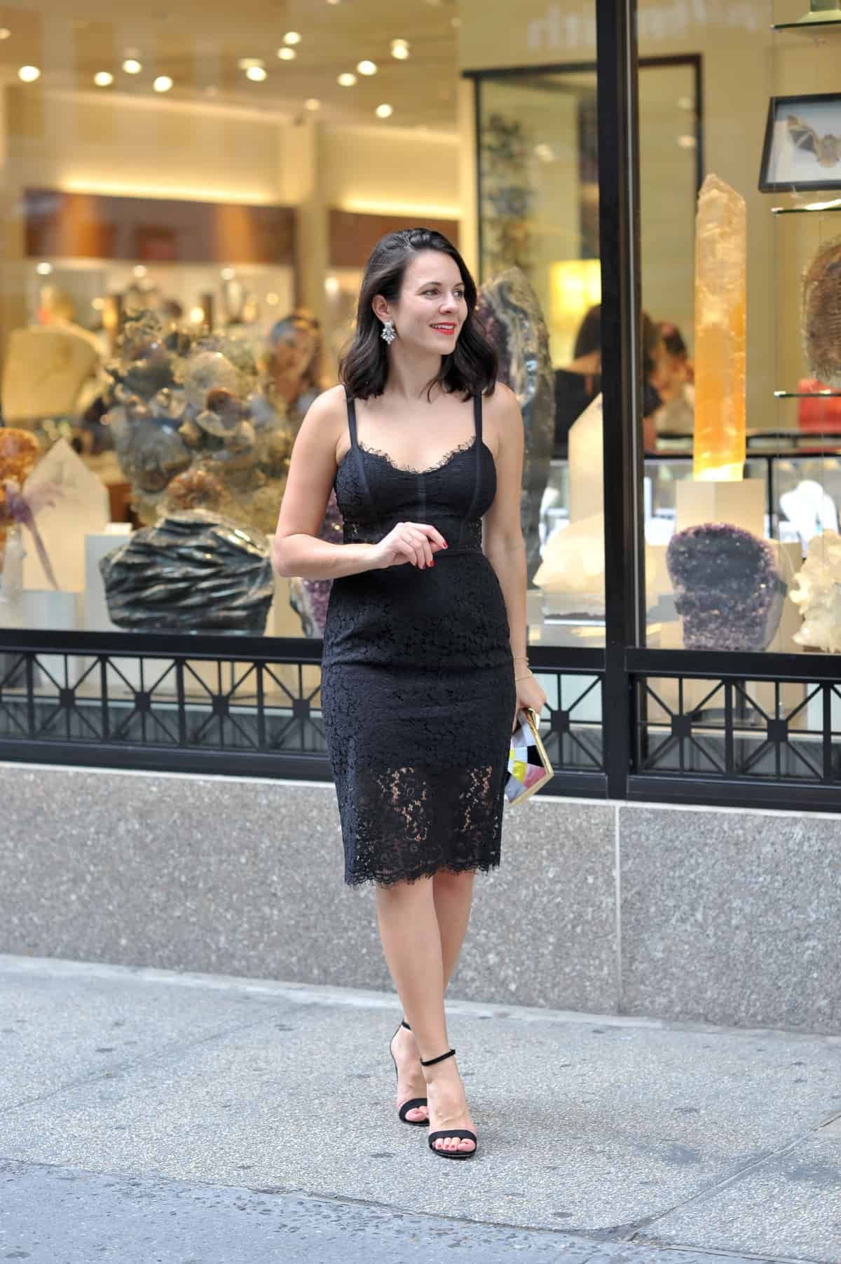 affordable black tie dresses, black lace dresses - My Style Vita @mystylevita