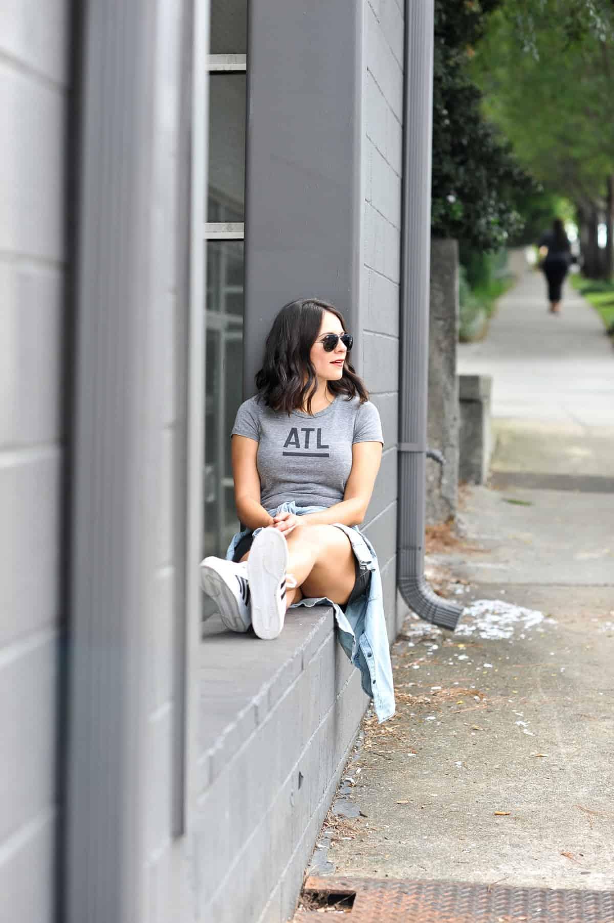 best atlanta based clothing brands, affordable outfit ideas, Adidas Superstars - My Style Vita - @mystylevita - 13
