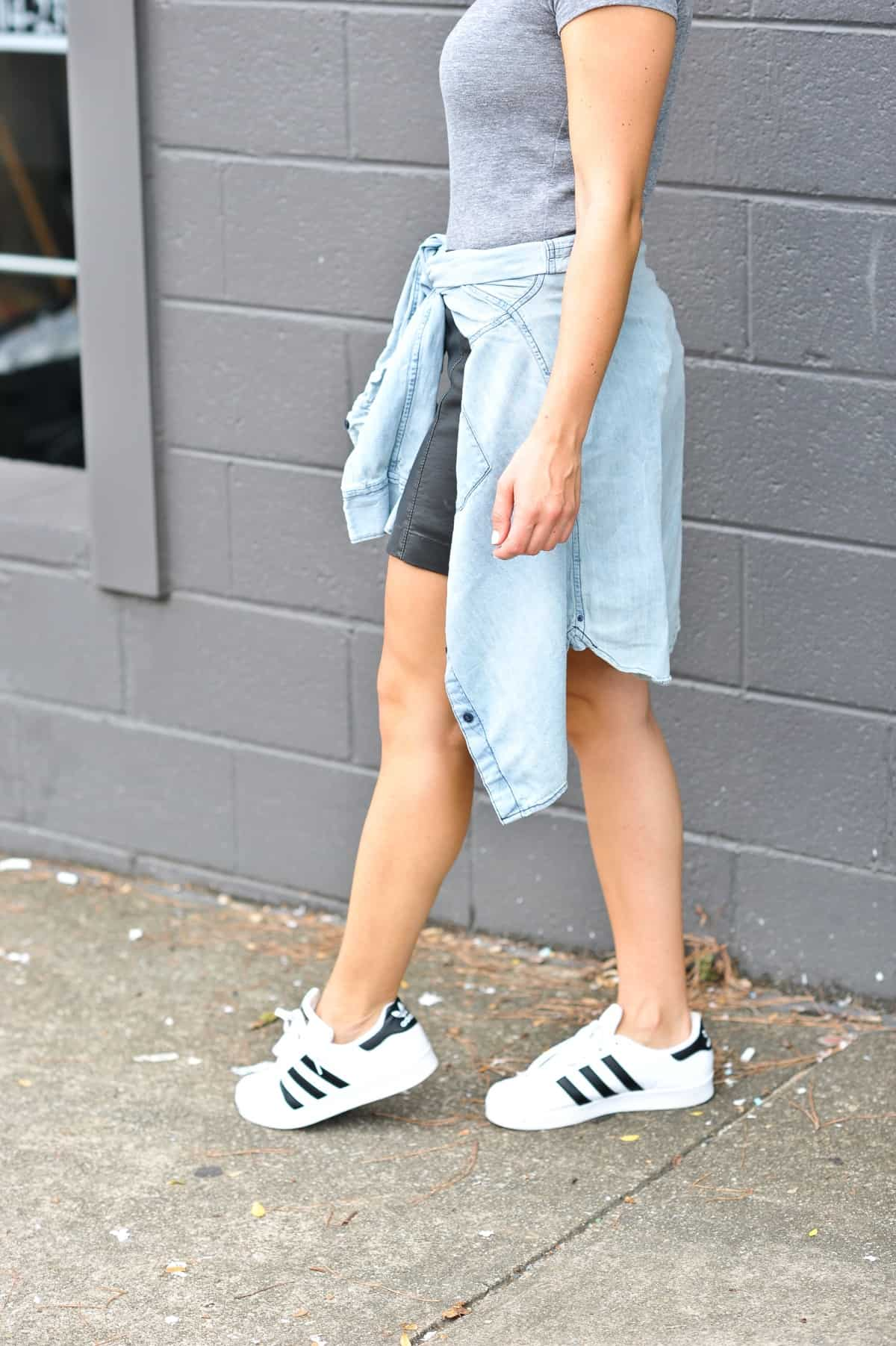best atlanta based clothing brands, affordable outfit ideas, Adidas Superstars - My Style Vita - @mystylevita - 24
