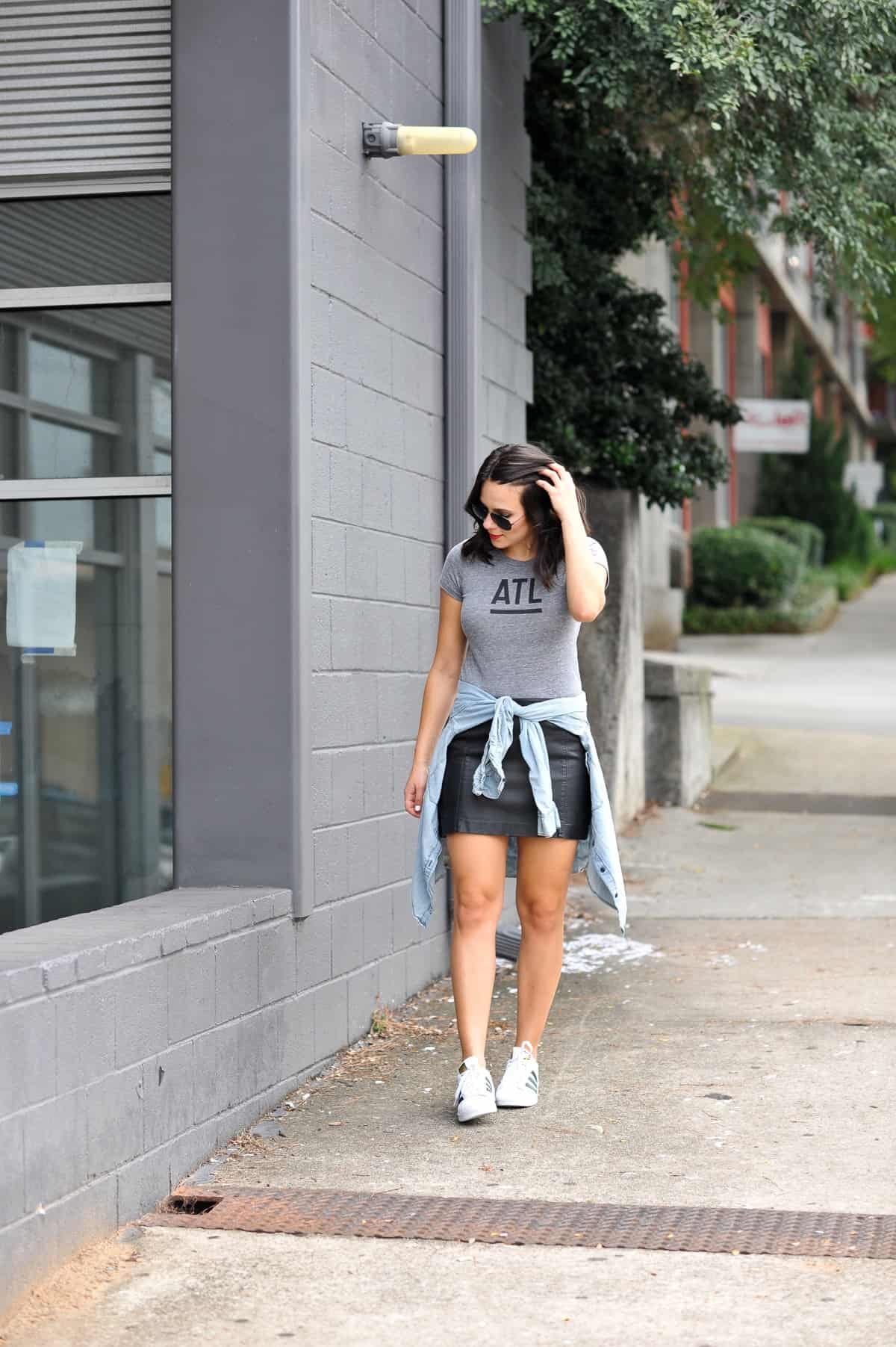 best atlanta based clothing brands, affordable outfit ideas, Adidas Superstars - My Style Vita - @mystylevita - 4