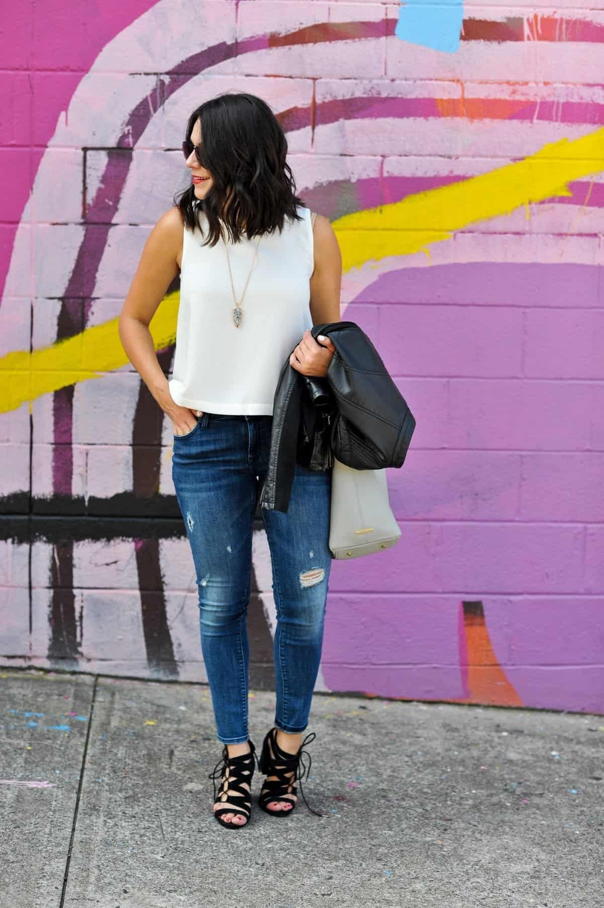 black and white outfit ideas, date night outfit ideas - My Style Vita @mystylevita