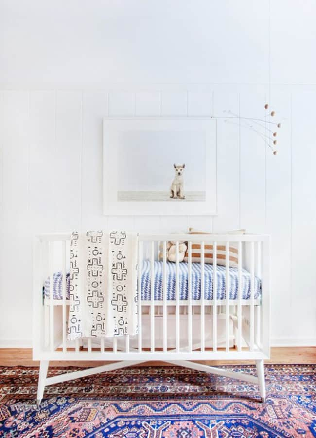 bohemian inspired nurseries