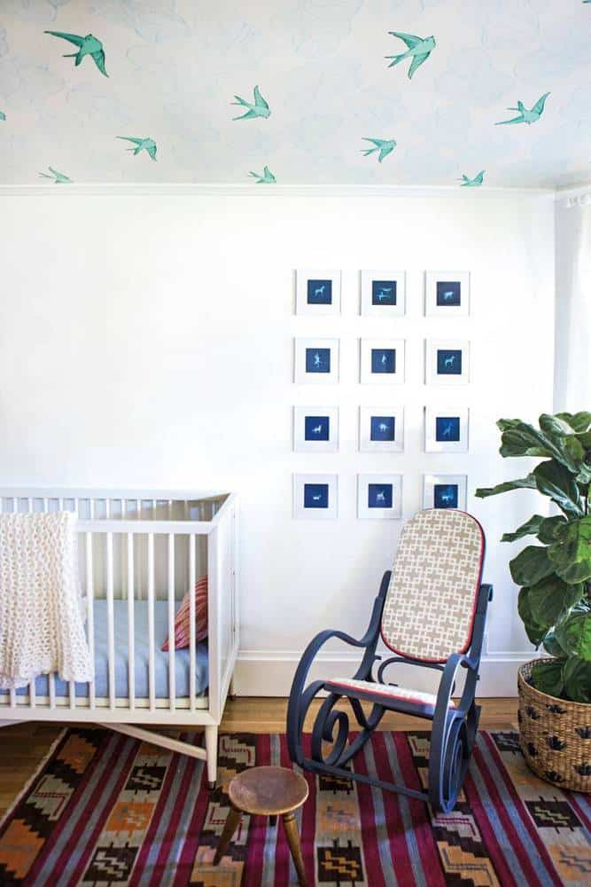 bohemian nursery ideas