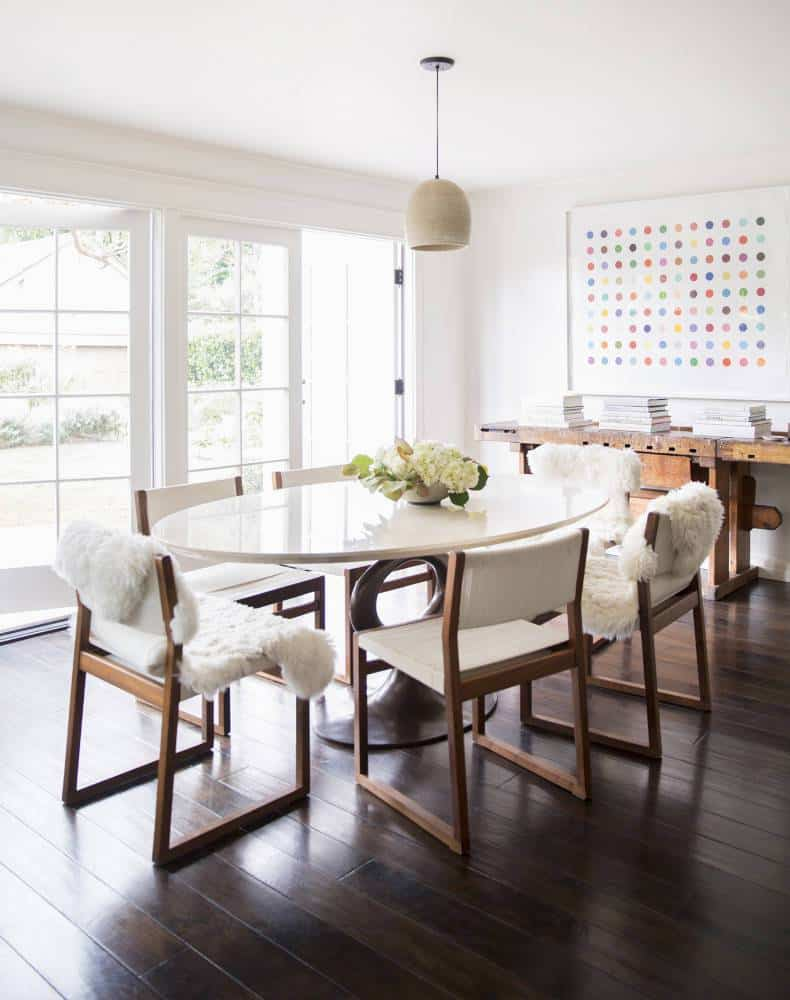 brown-and-white-dining-room-ideas-modern-mid-century