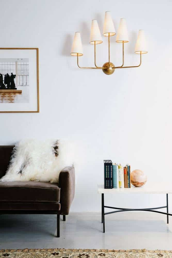 Brown and gold home interior ideas my style vita - White and gold room ...