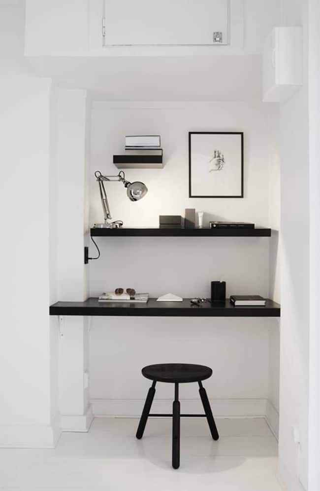 small space office solutions for the home @mystylevita - 1 (1)