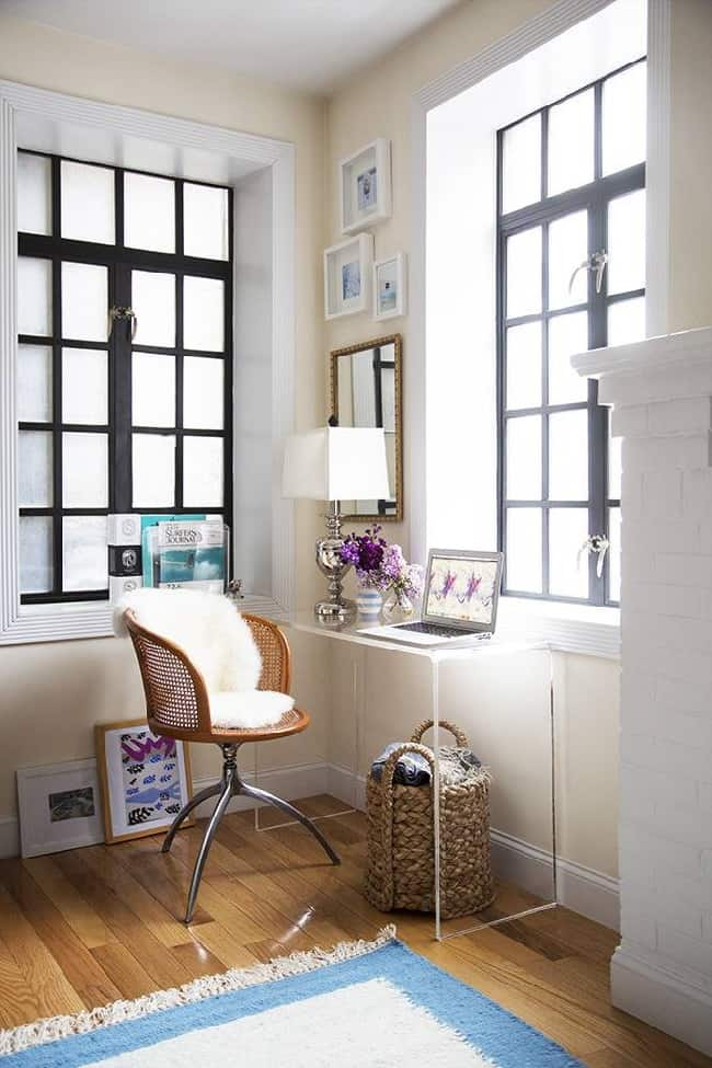 small space office solutions for the home @mystylevita