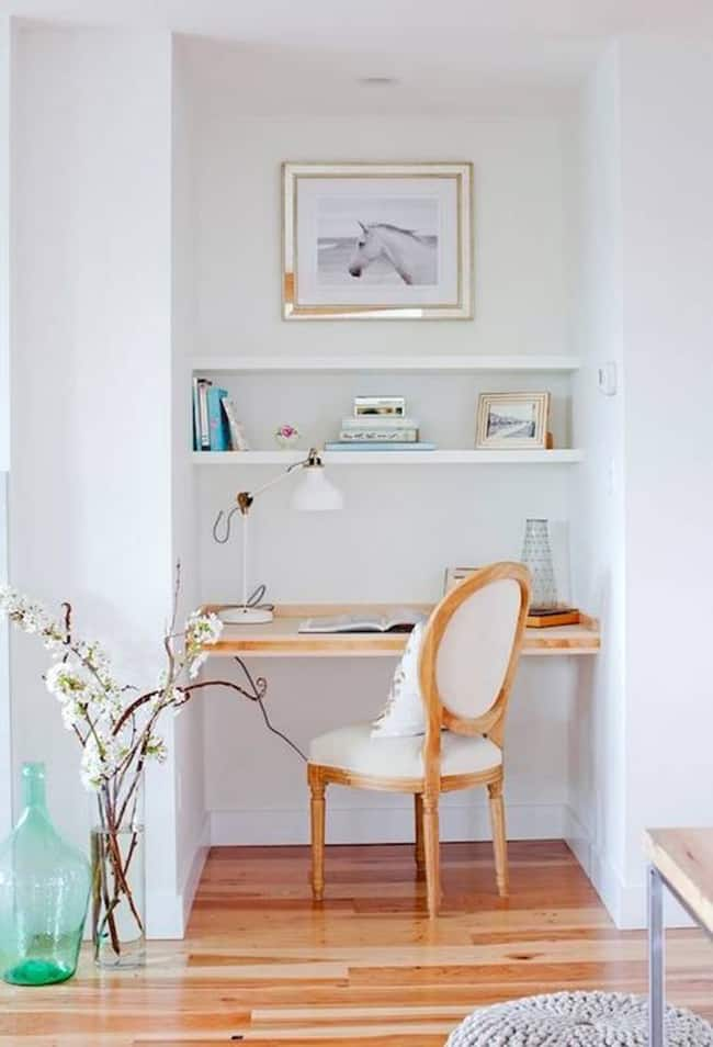 small space office solutions for the home @mystylevita - 5
