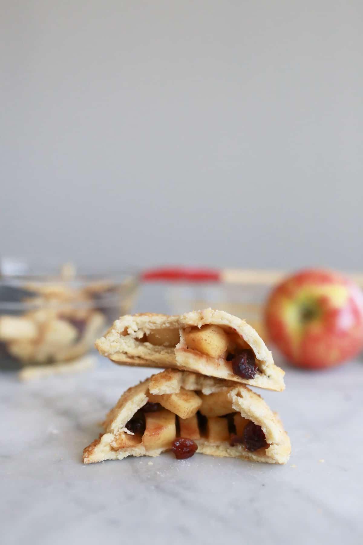 Apple Cranberry Hand Pie Recipe - My Style Vita