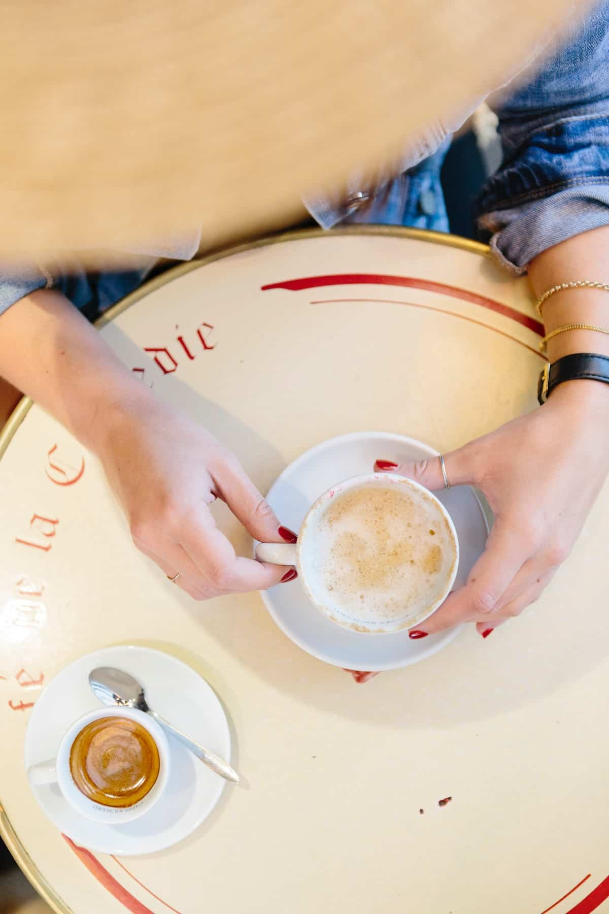 Coffee in Paris, paris photos, coffee photo ideas - My Style Vita @mystylevita