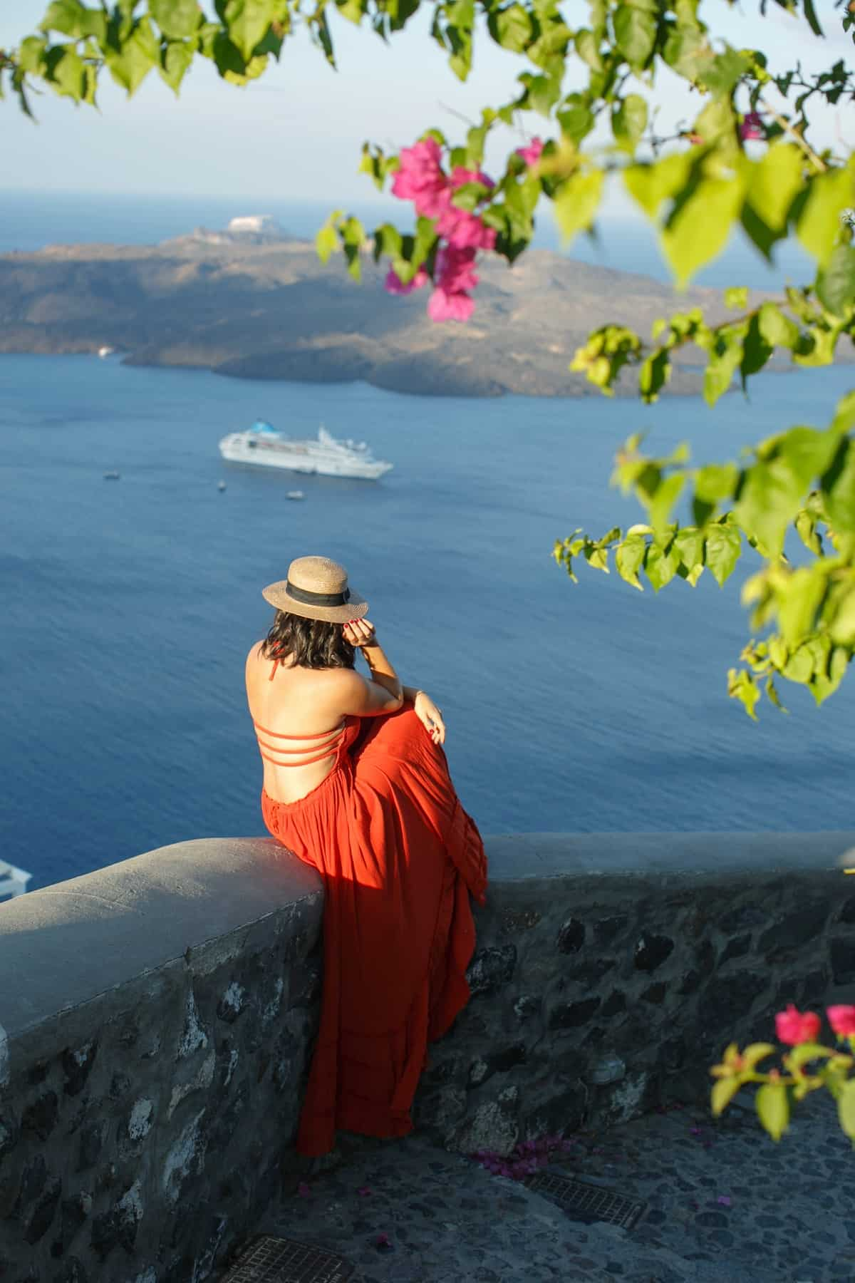 Free People Extratropical Dress - maxi dresses - Santorini Greece travel outfit - My Style Vita @mystylevita