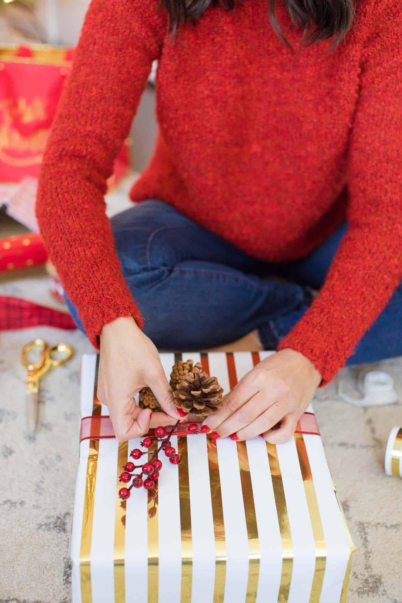 Christmas wrapping ideas, christmas photos - My Style Vita @mystylevita