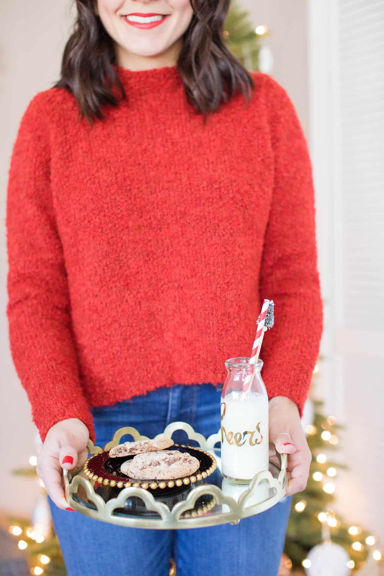 cookies for santa, christmas decorating ideas - My Style Vita @mystylevita