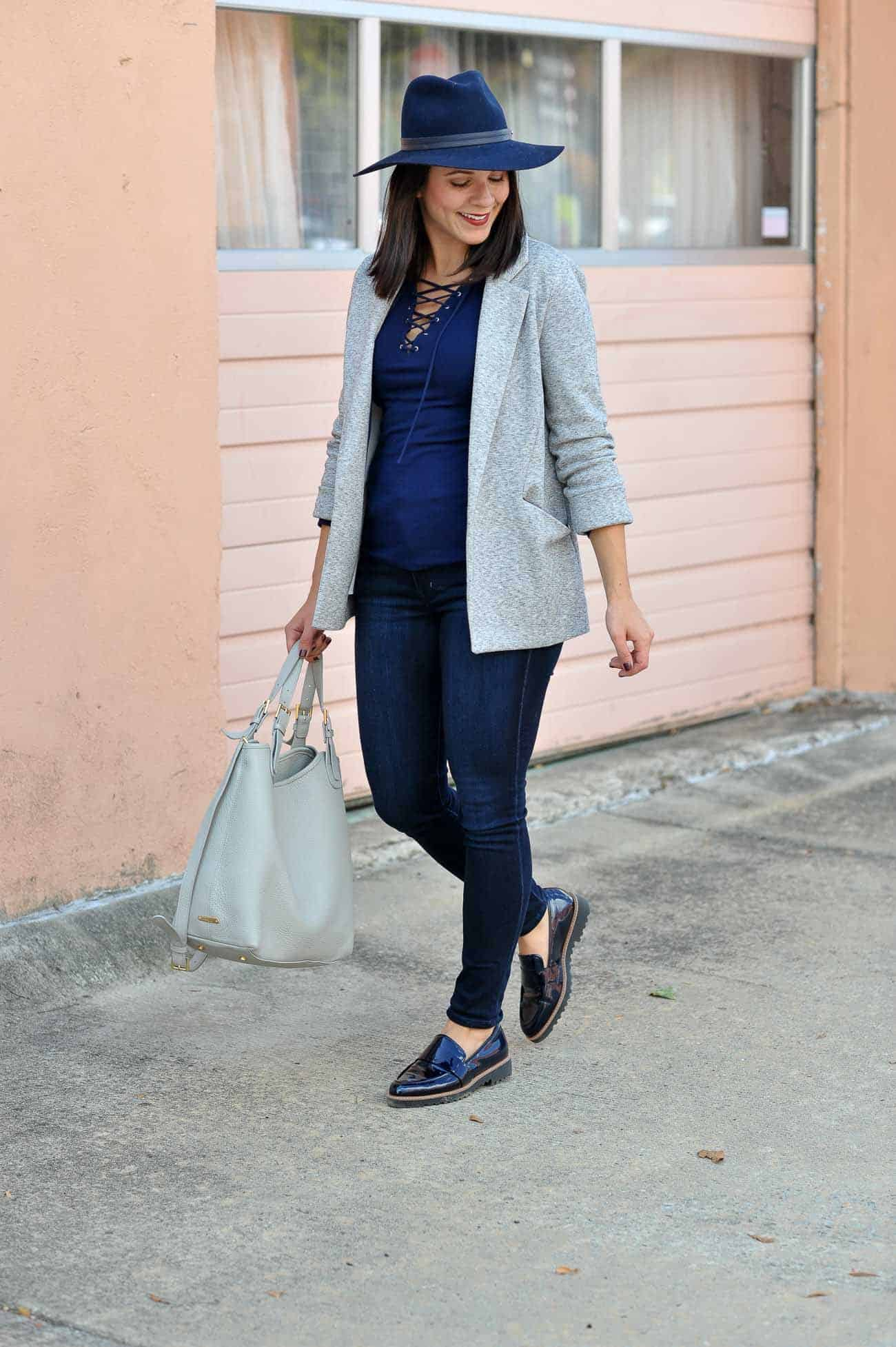Nordstrom Halogen Loafers, casual tomboy chic outfit ideas - My Style Vita