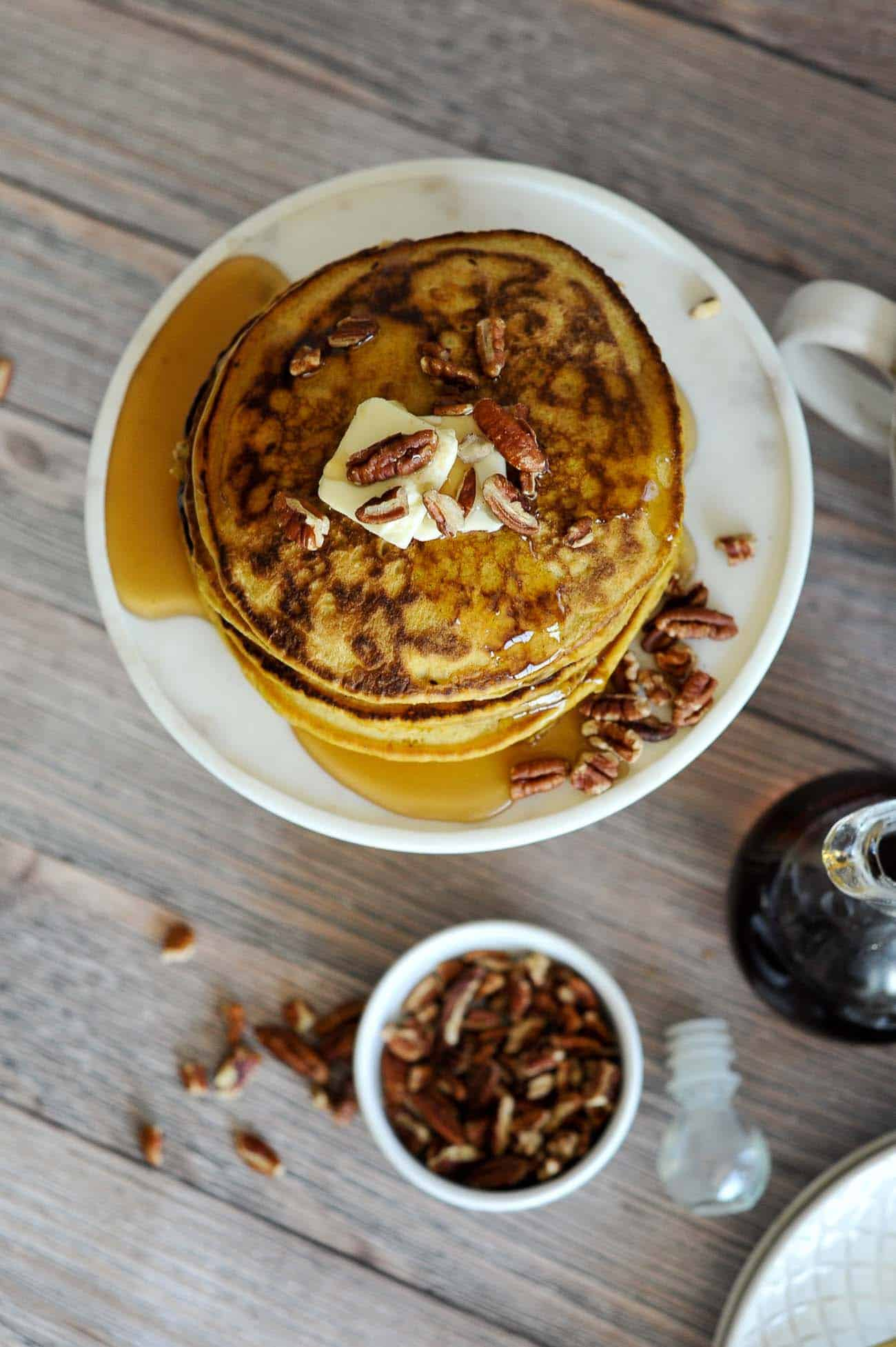 Pumpkin pancake recipe, pumpkin recipes to try for fall - My Style Vita @mystylevita