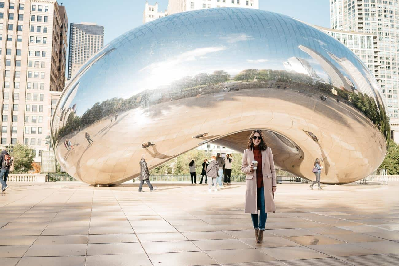 Things to do in Chicago, Ann Taylor camel coat - My Style Vita @mystylevita