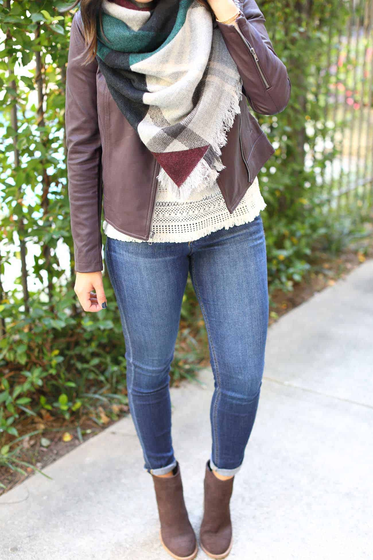 The Blanket Scarf - Styling A Blanket Scarf - My Style Vita