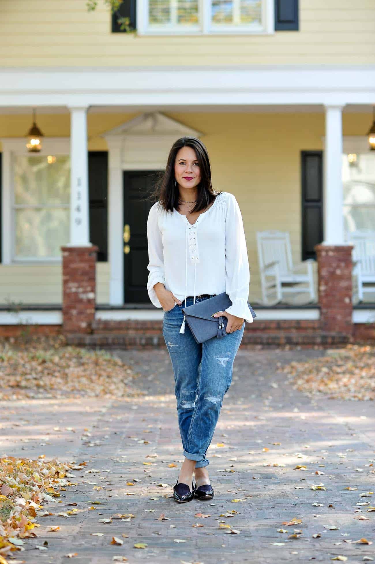 white house black market outfit, casual affordable weekend style looks - My Style Vita @mystylevita