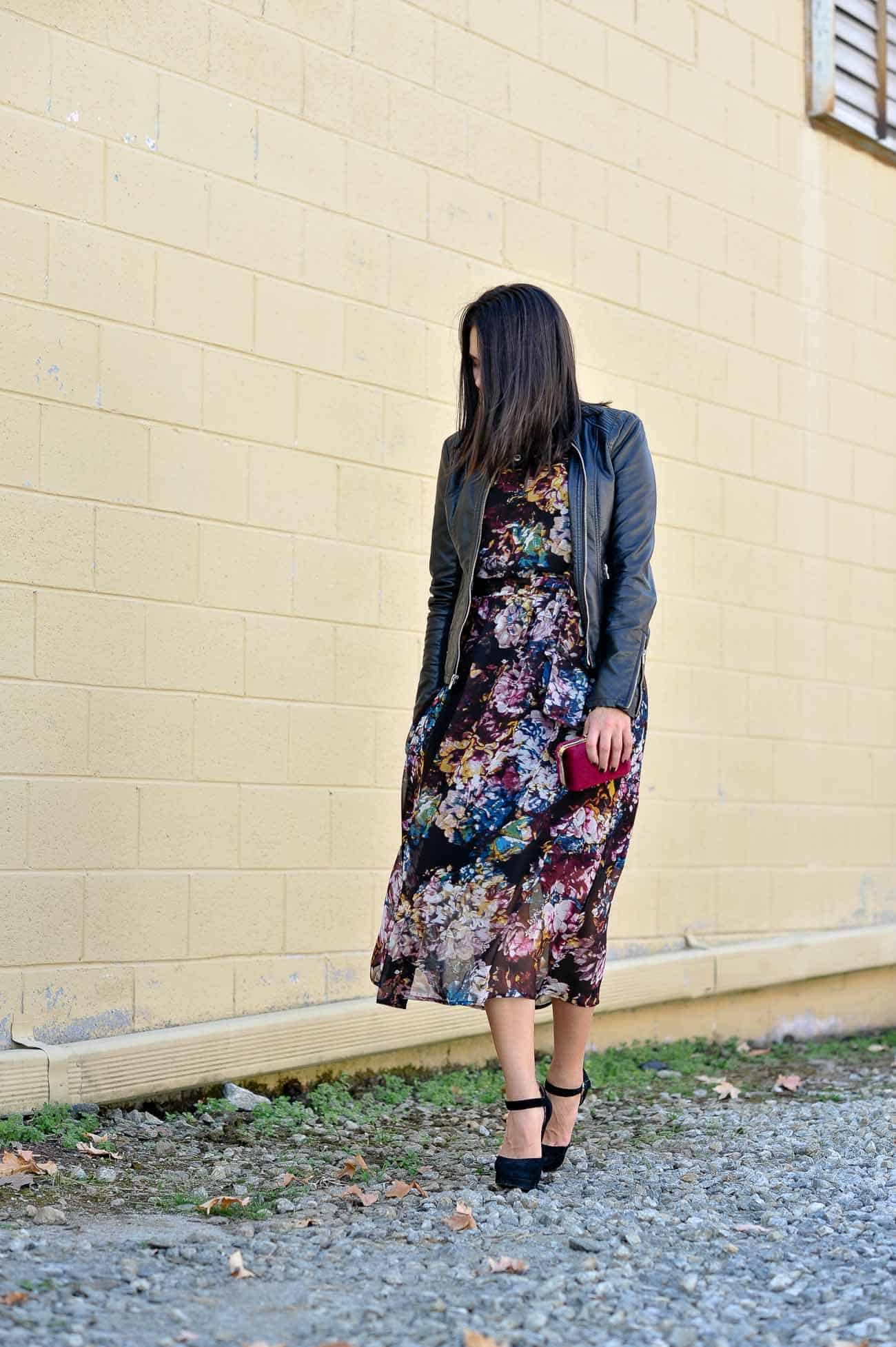 fall floral maxi dress - My Style Vita @mystylevita