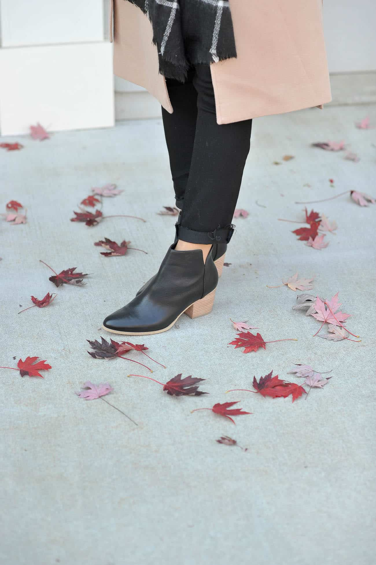 sole society booties, black flat boots, boots for fall- My Style Vita @mystylevita
