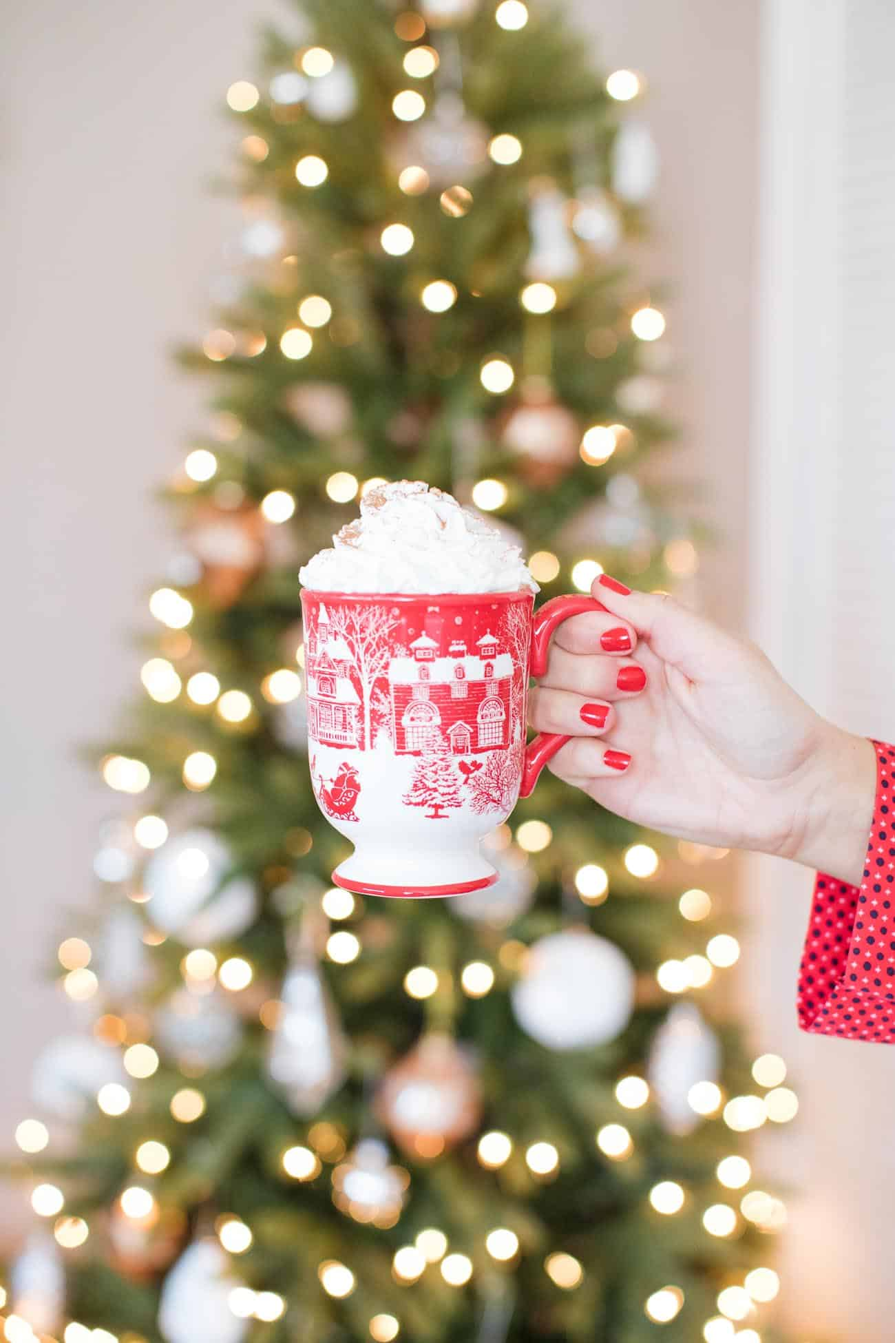 spiked hot chocolate recipe, christmas ideas - My Style Vita @mystylevita