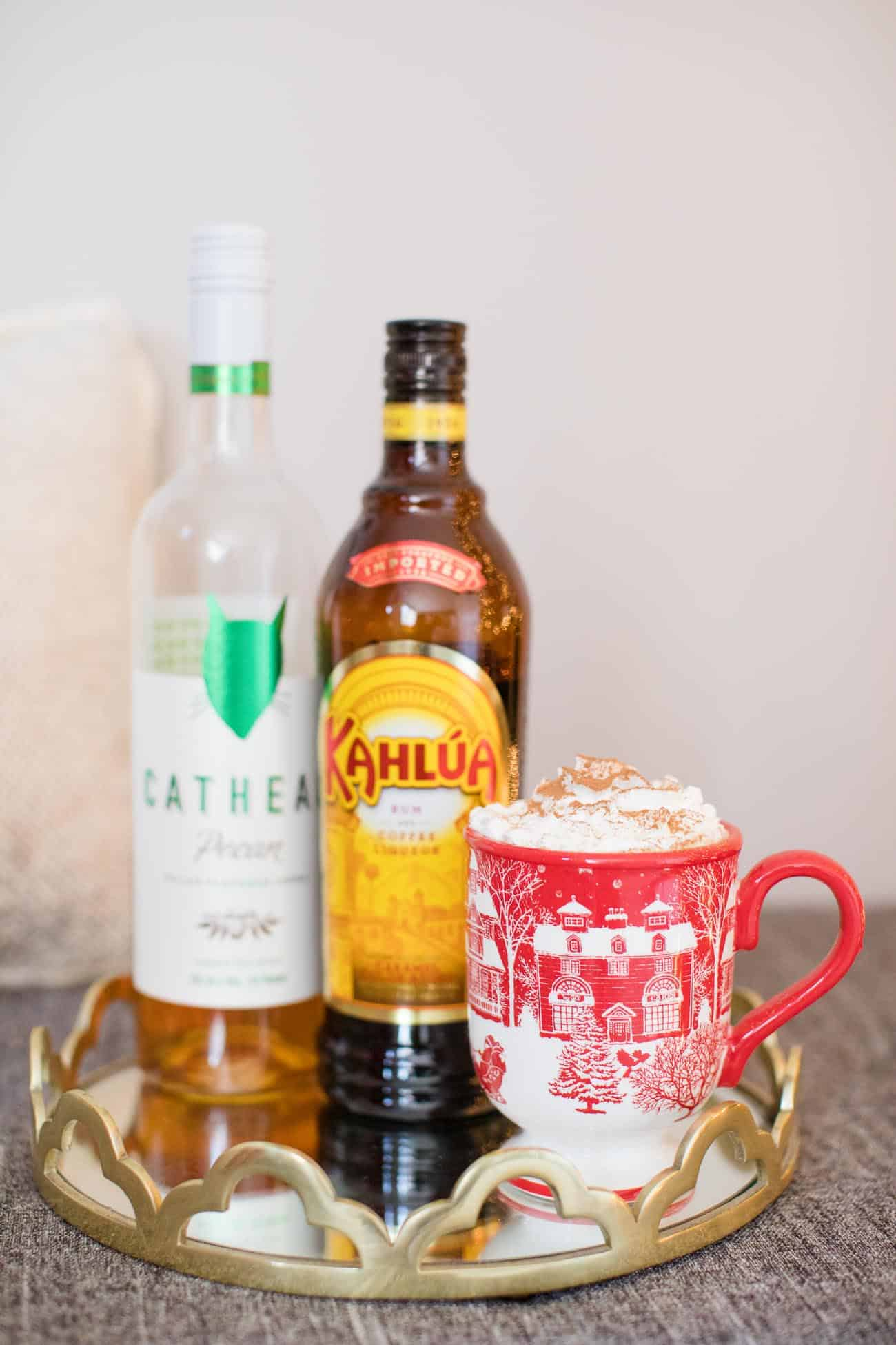 spiked hot chocolate recipe, christmas ideas, holiday cocktails - My Style Vita @mystylevita