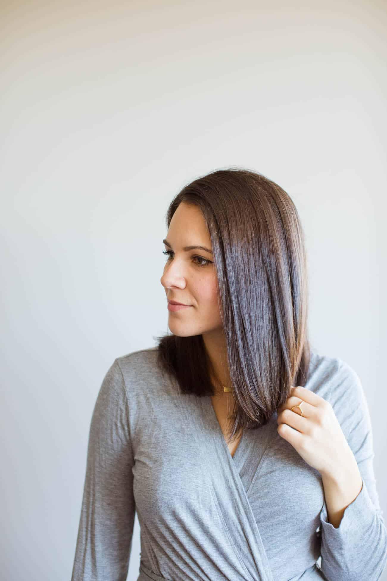 how to get silky straight hair, straight hair - My Style Vita @mystylevita