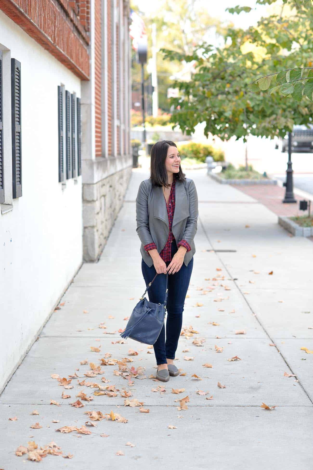 Madewell loafers, styling loafers for fall - My Style Vita @mystylevita