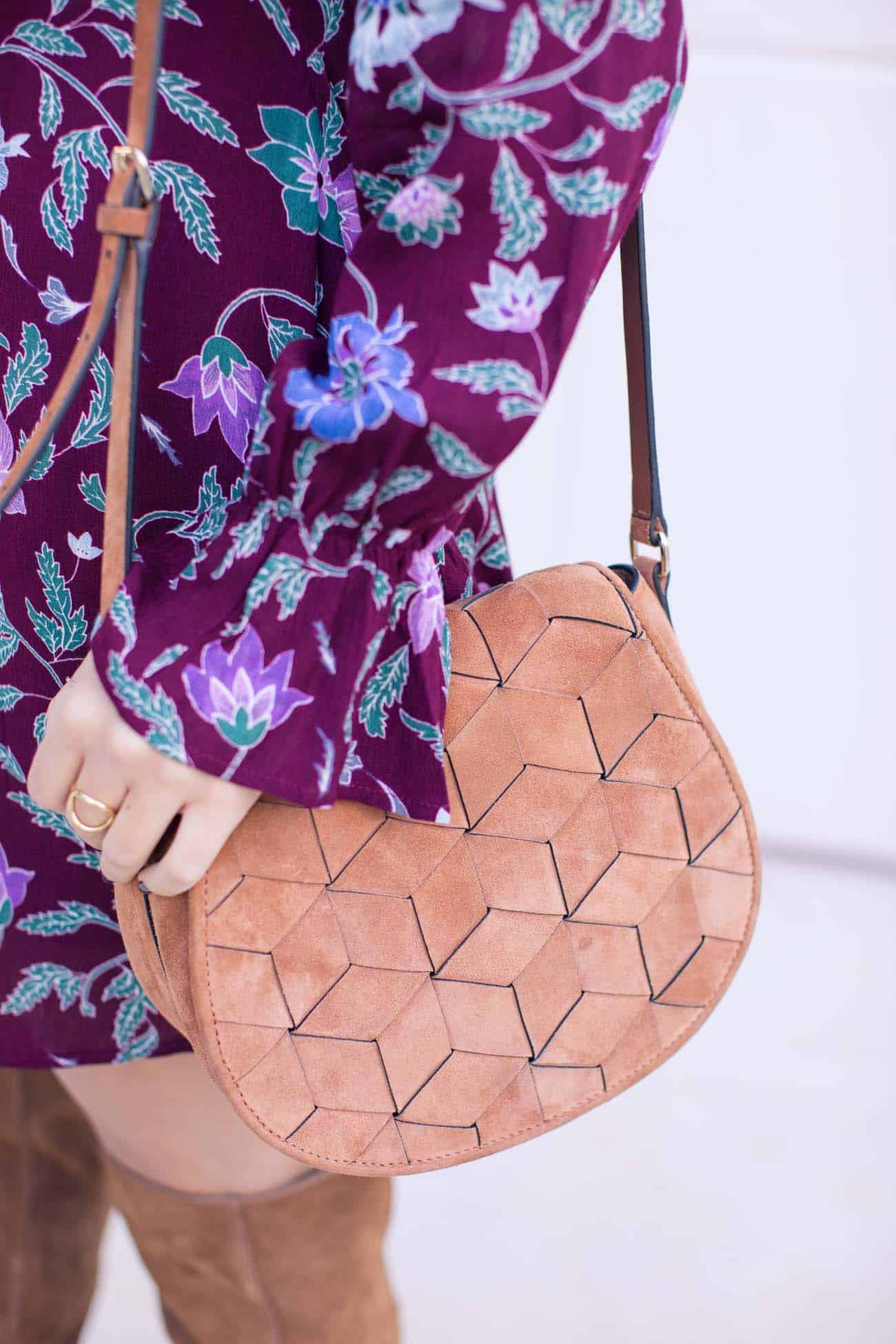 welded bag, crossbody bags, floral dress, - My Style Vita @mystylevita