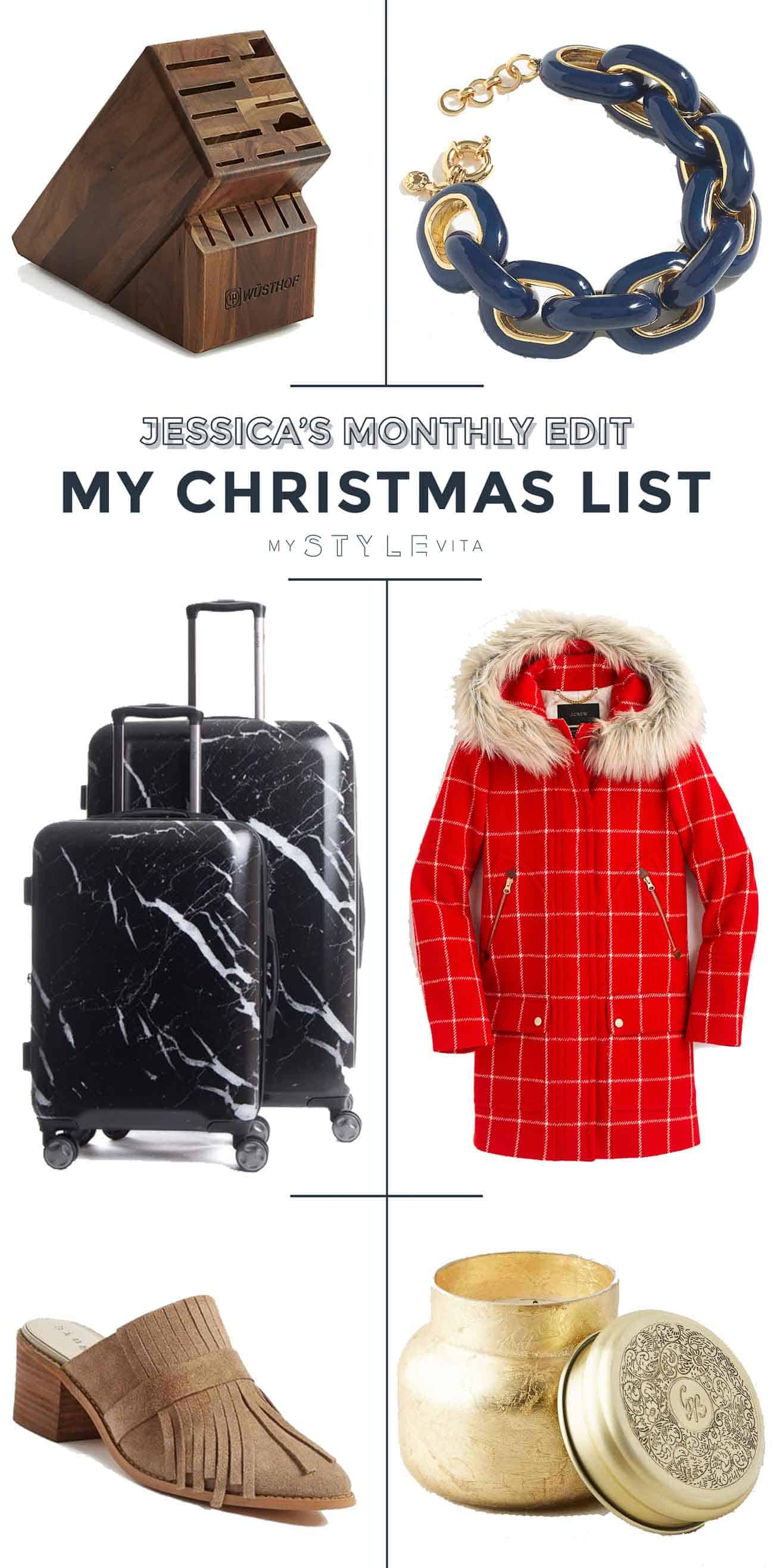 holiday gift guide for her, things to buy a fashionable friend - My Style Vita @mystylevita