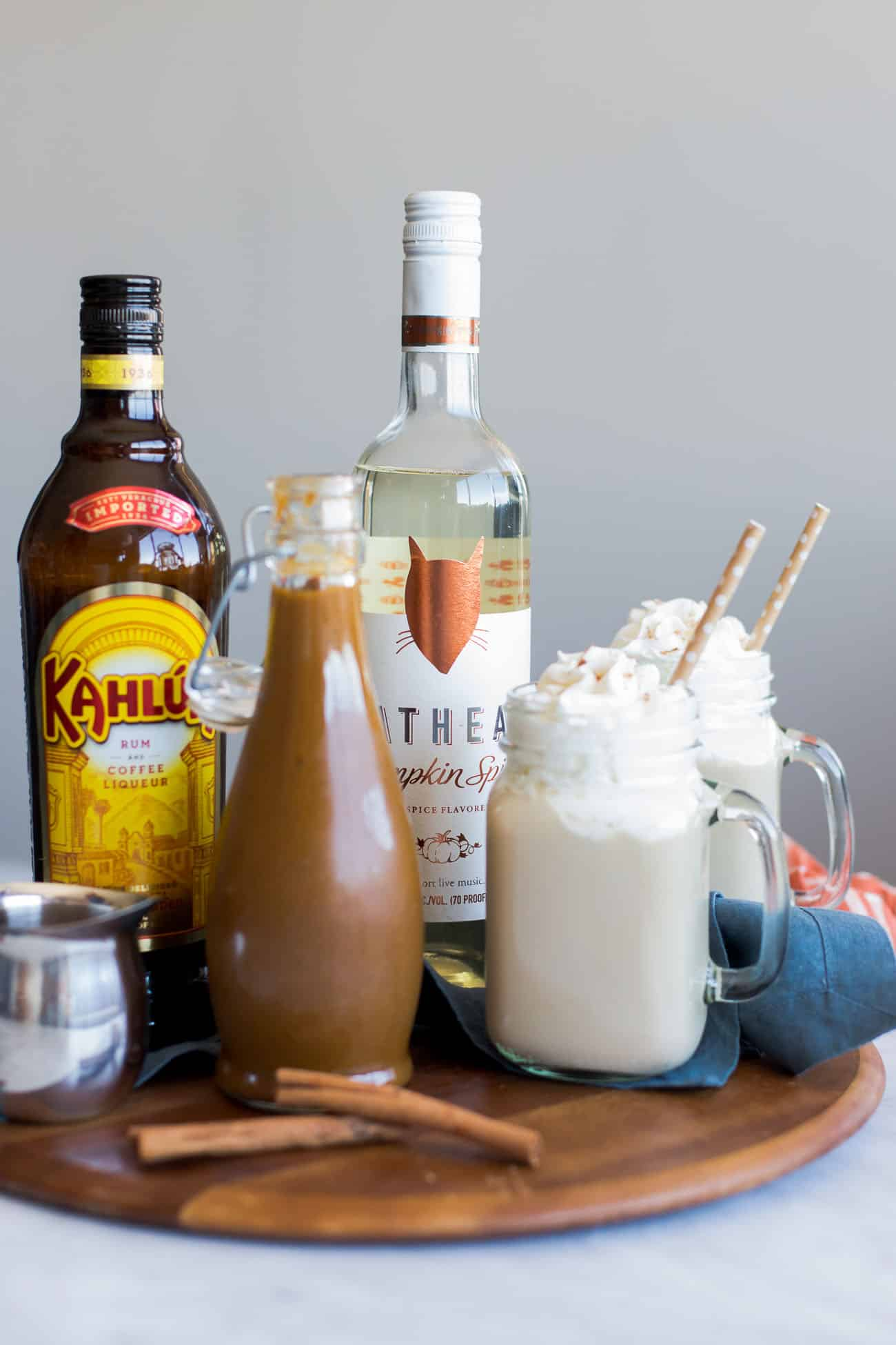 how to make a pumpkin spice latte at home with vodka