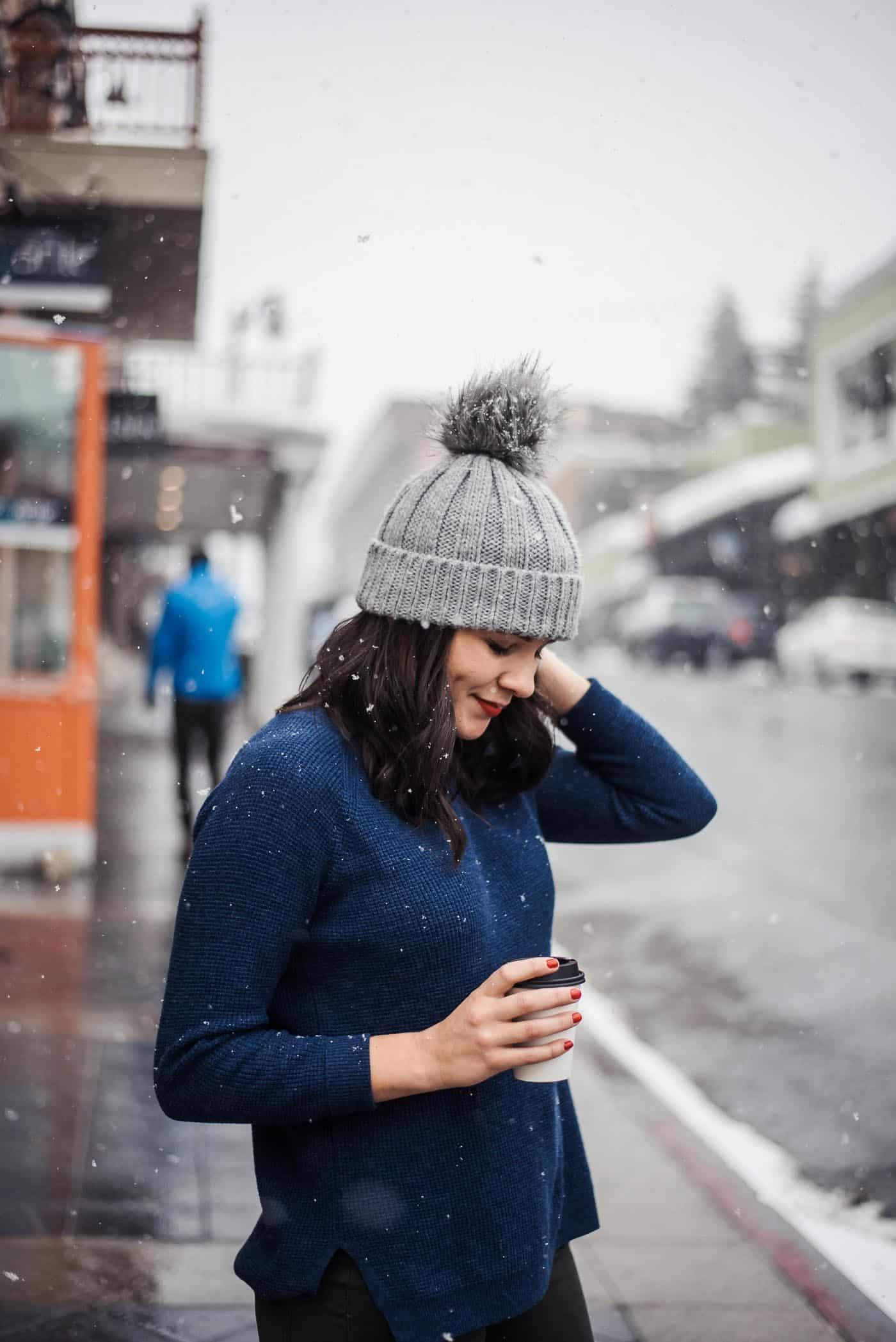 Winter outfit, Park City Utah, J Crew Chateau Parka, snow outfit ideas, snowy photos