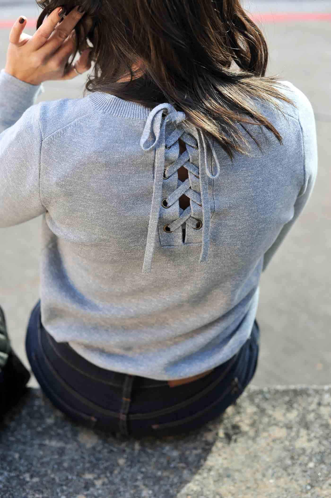 madewell lace back sweater my style vita
