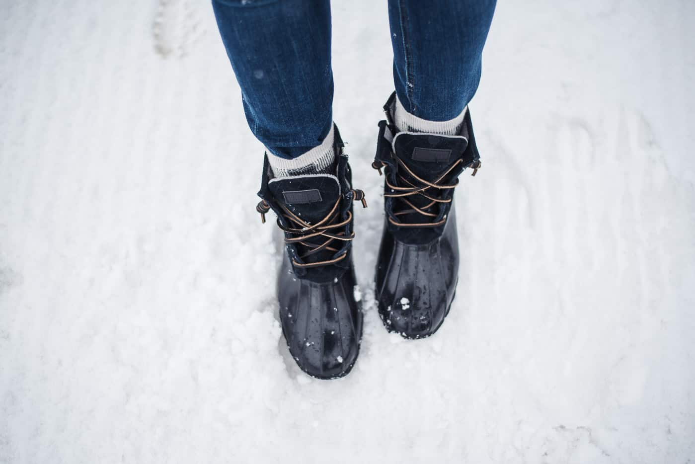 How to style Sperry duck boots, winter outfit ideas, how to style a parka - My Style Vita @mystylevita