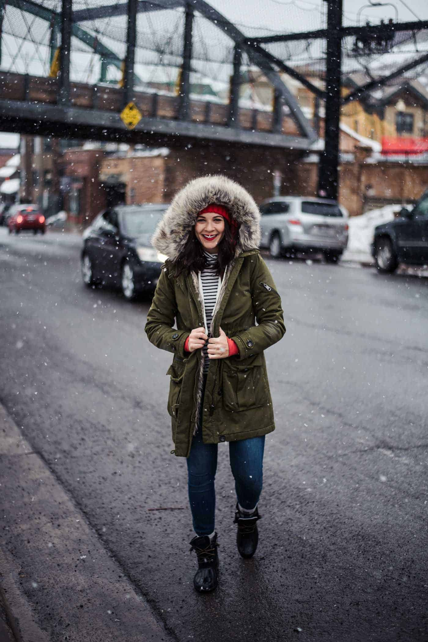 Park City Utah, winter outfit ideas, how to style a parka - My Style Vita @mystylevita