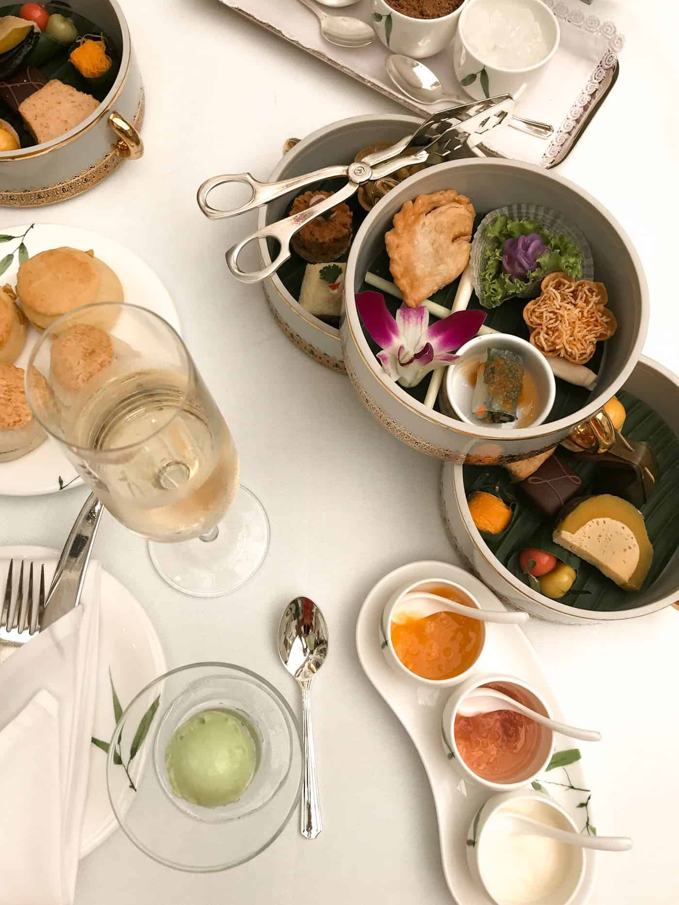things to do in thailand - Oriental high tea - My Style Vita @mystylevita