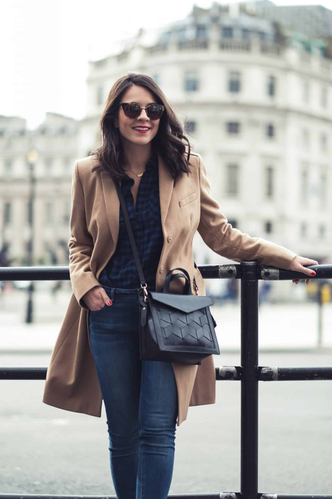 trench coat, patent loafers, casual london street style, trench coat - My Style Vita @mystylevita