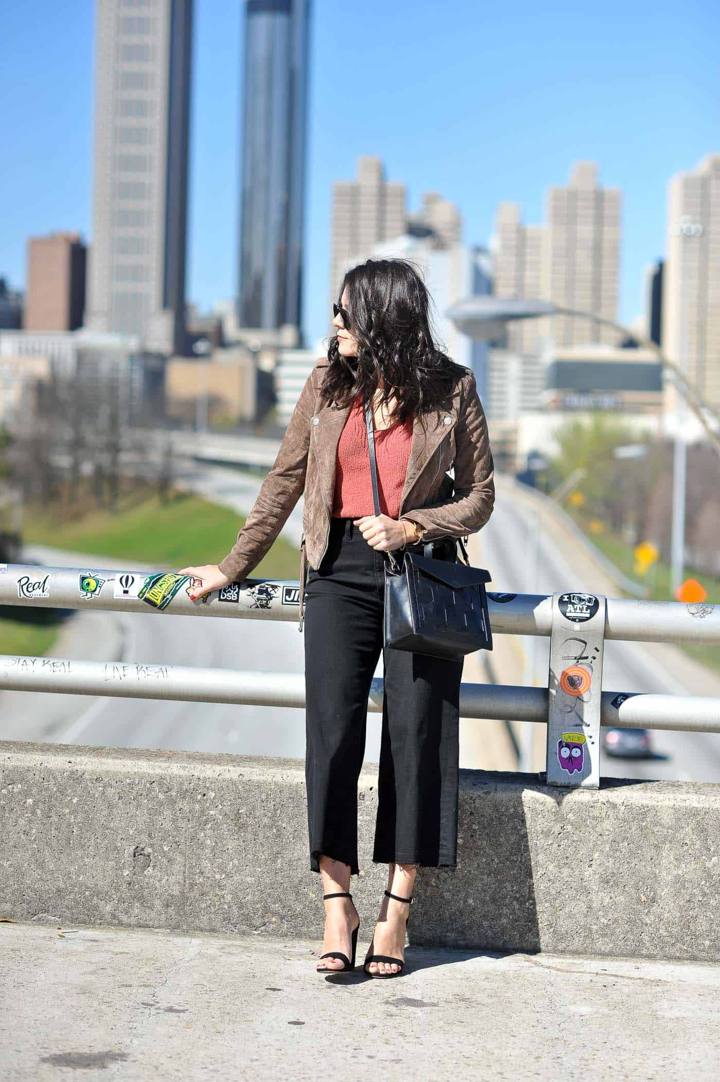 Styling Wide Cropped Jeans - spring outfits - My Style Vita @mystylevita