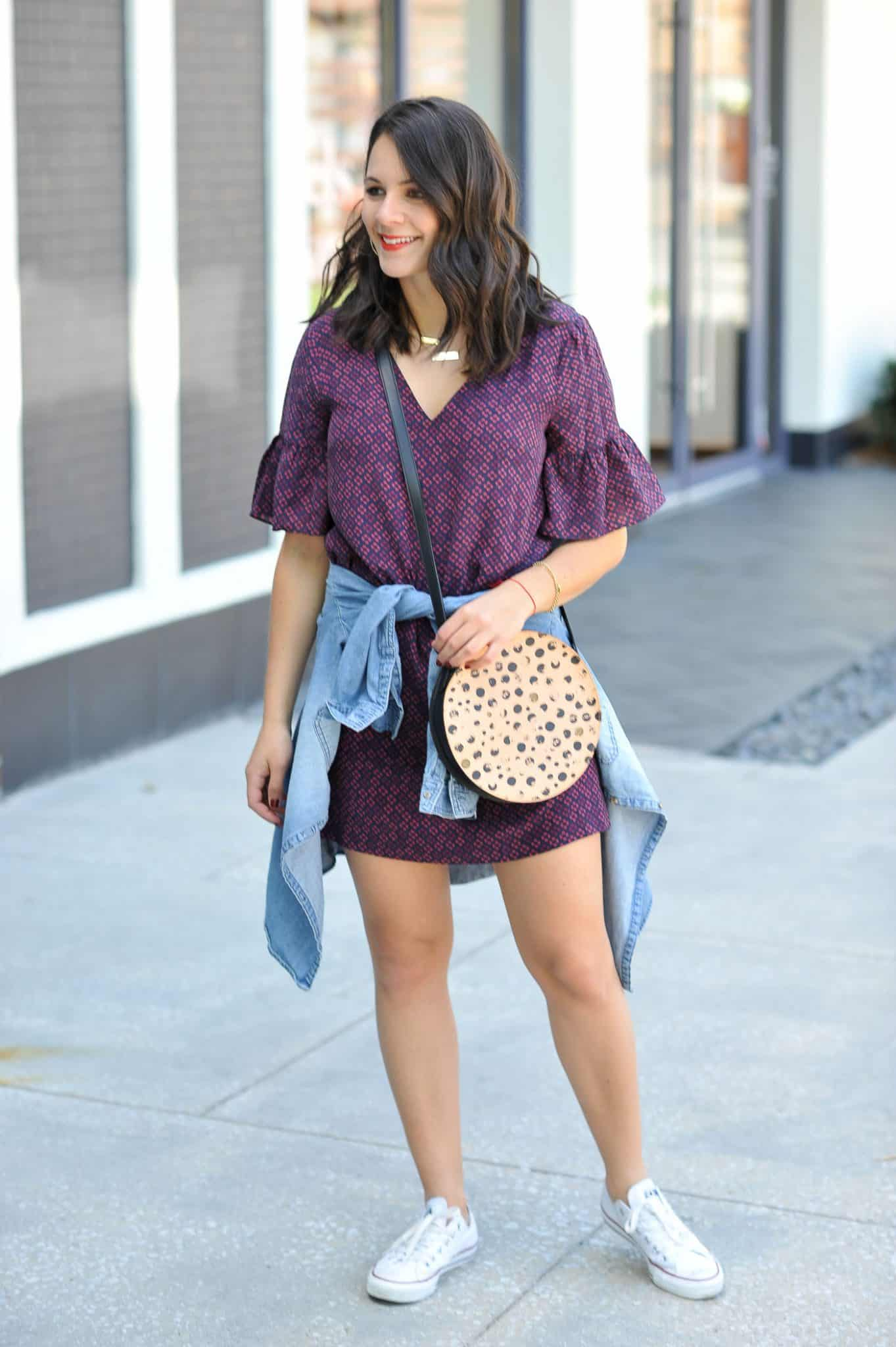 How to make your converse more comfortable, styling a dress with converse - My Style Vita