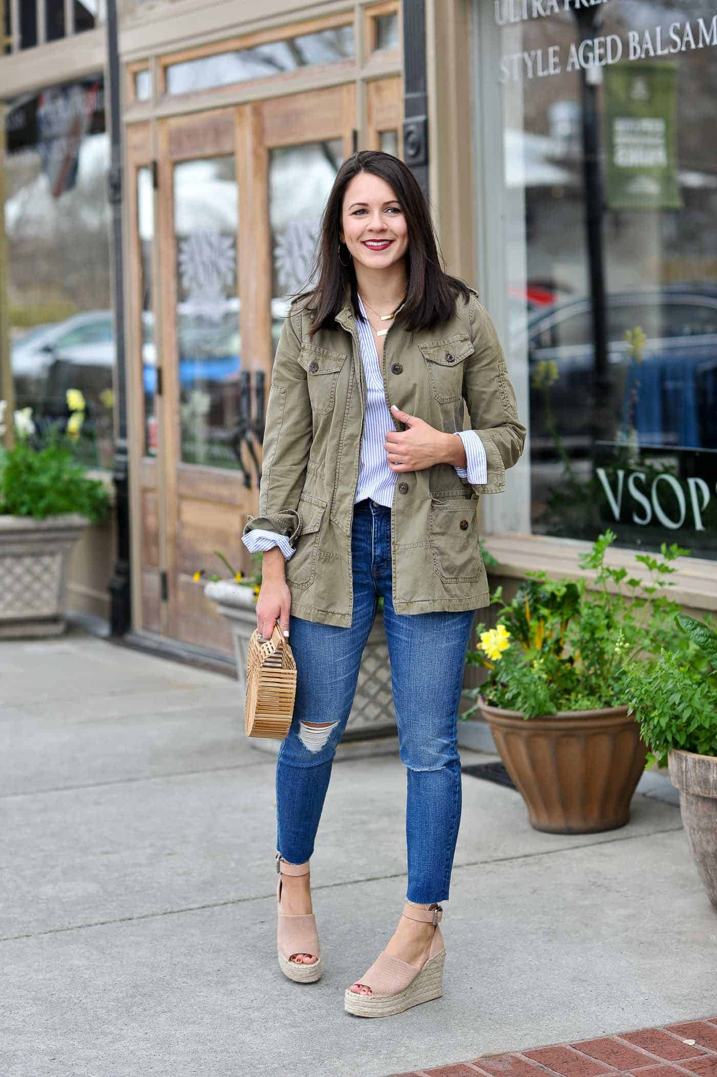 casual spring outfits with denim - My Style Vita