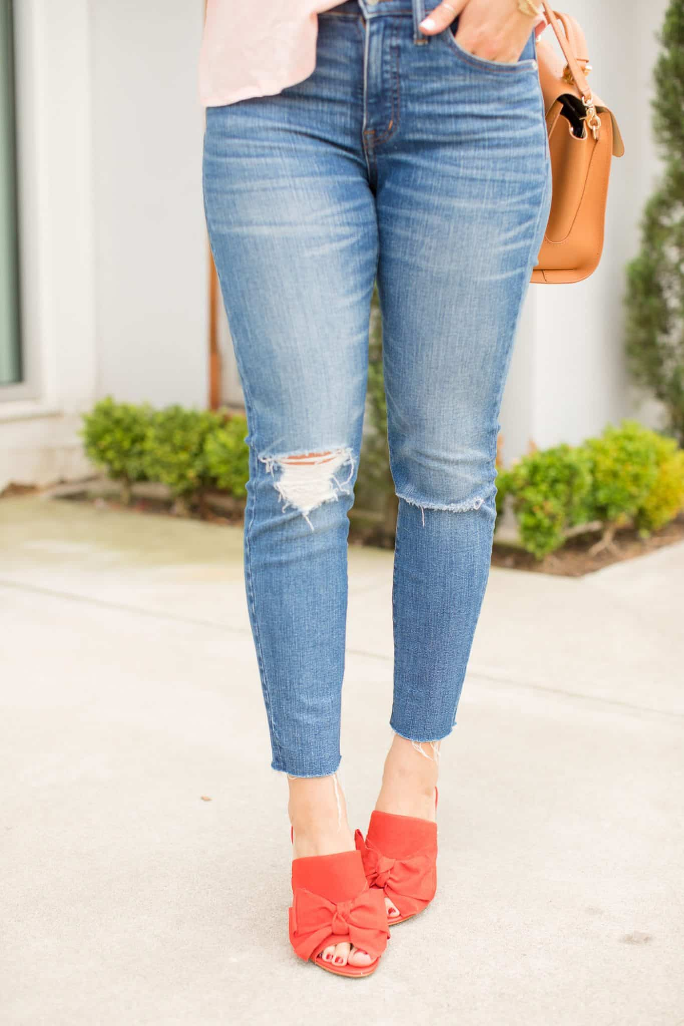 red bow mules, sam edelman shoes - My Style Vita @mystylevita
