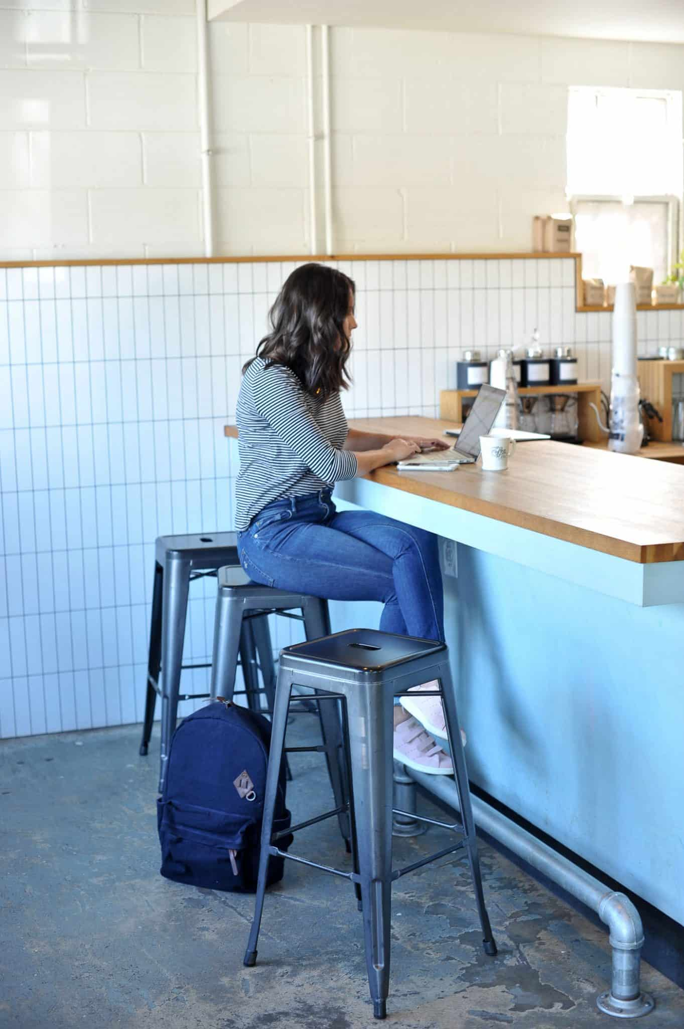 girl working at coffee shop, The Best New Coffee Shop In Atlanta, Atlanta unique stores | My Style Vita @mystylevita