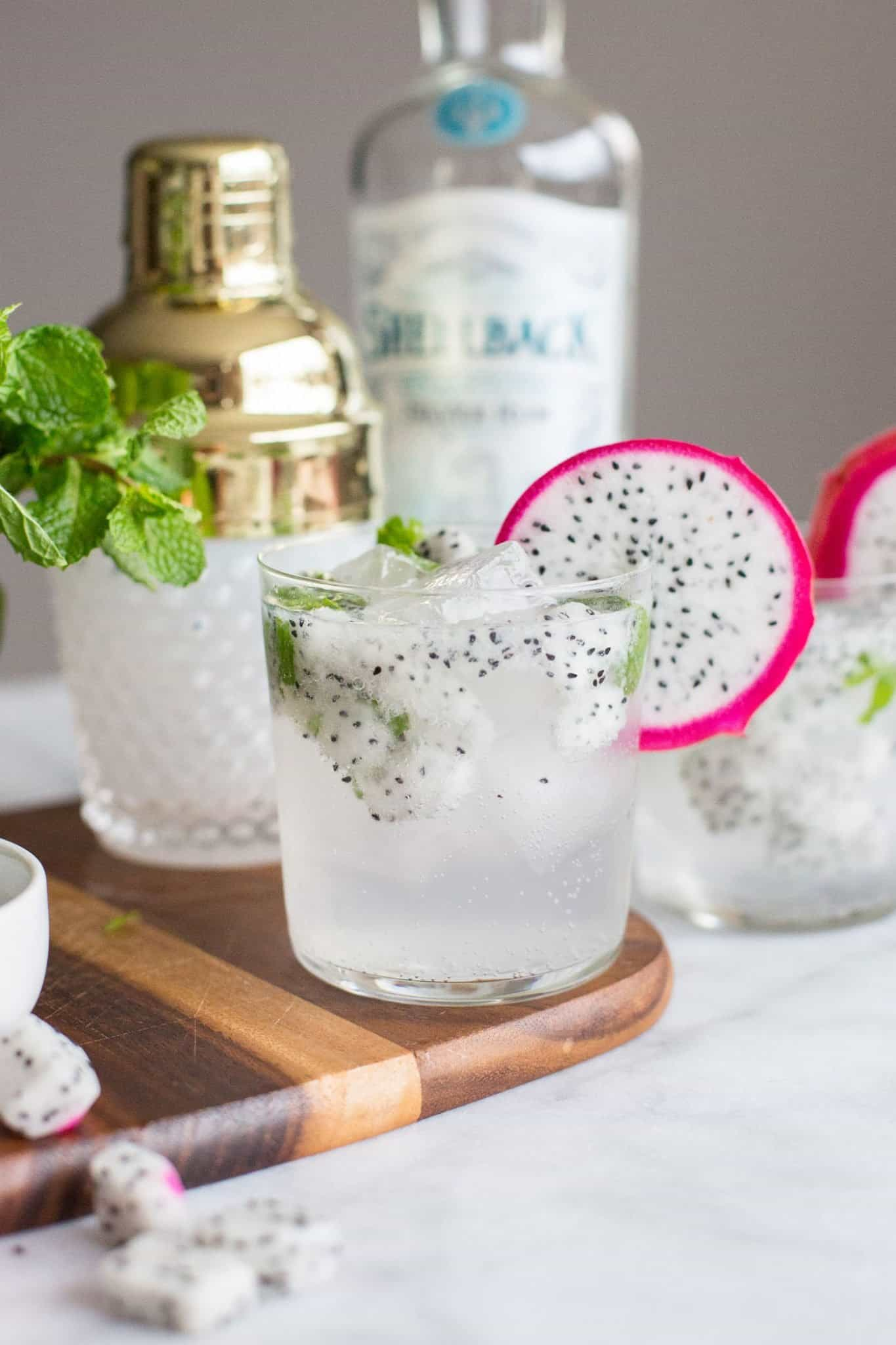 dragonfruit mojito recipe for summer cocktails
