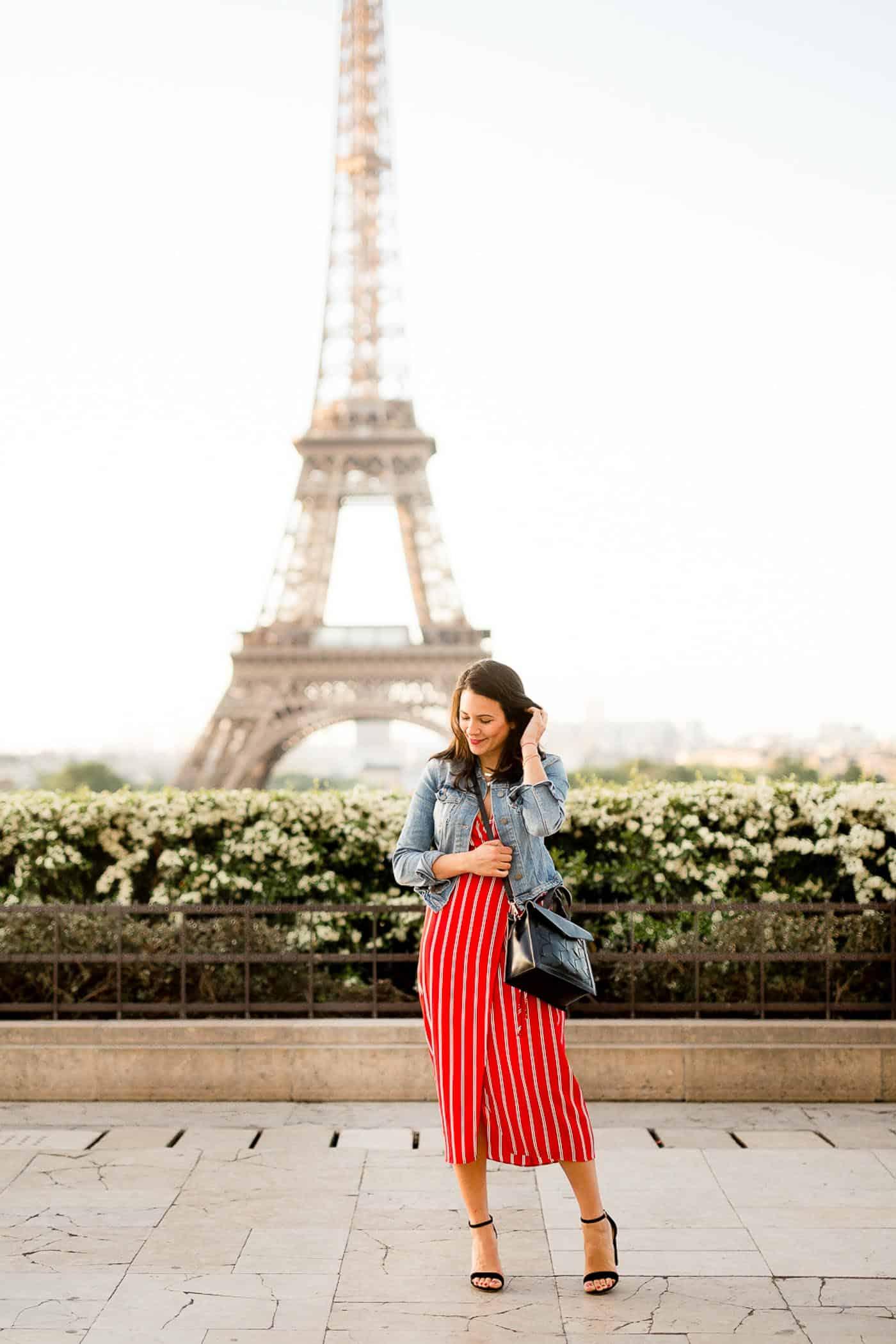 Eiffel Tower Photo Ideas - what to wear in Paris - My Style Vita @mystylevita