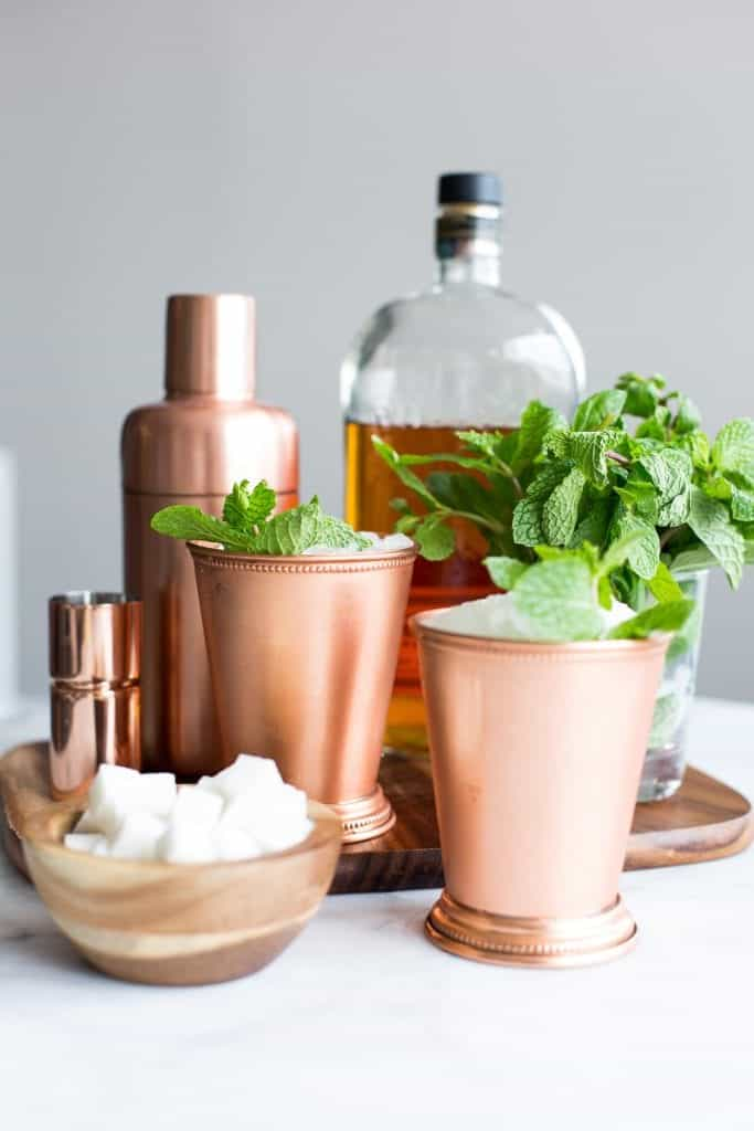 Classic Mint Julep Cocktail | | Easy Spring Cocktails With Bourbon