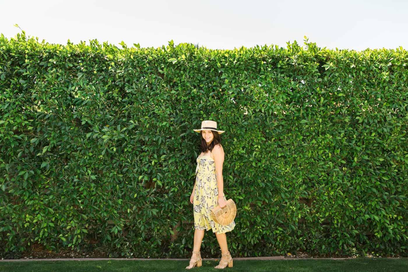 yellow sundress, summer outfit - My Style Vita @mystylevita
