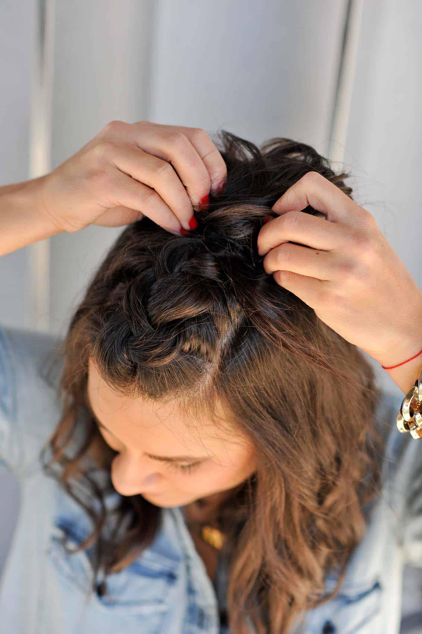 Braided Half Up Half Down Hairstyle Tutorial | My Style Vita