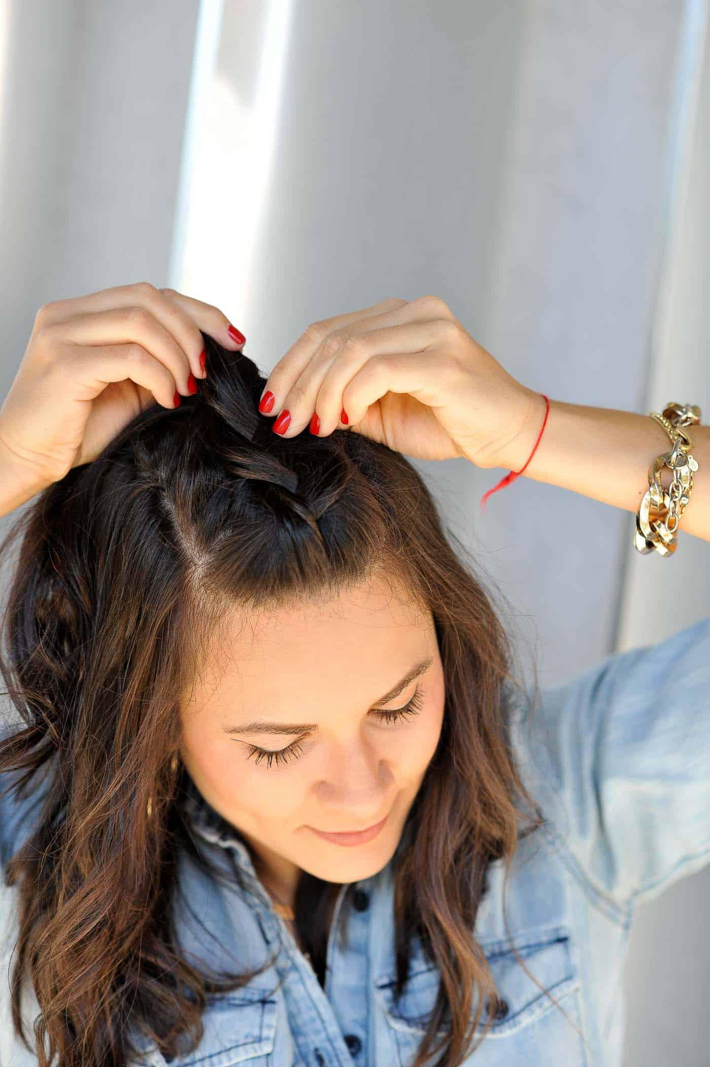 braided hairstyles for short hair, braid ideas - My Style Vita @mystylevita