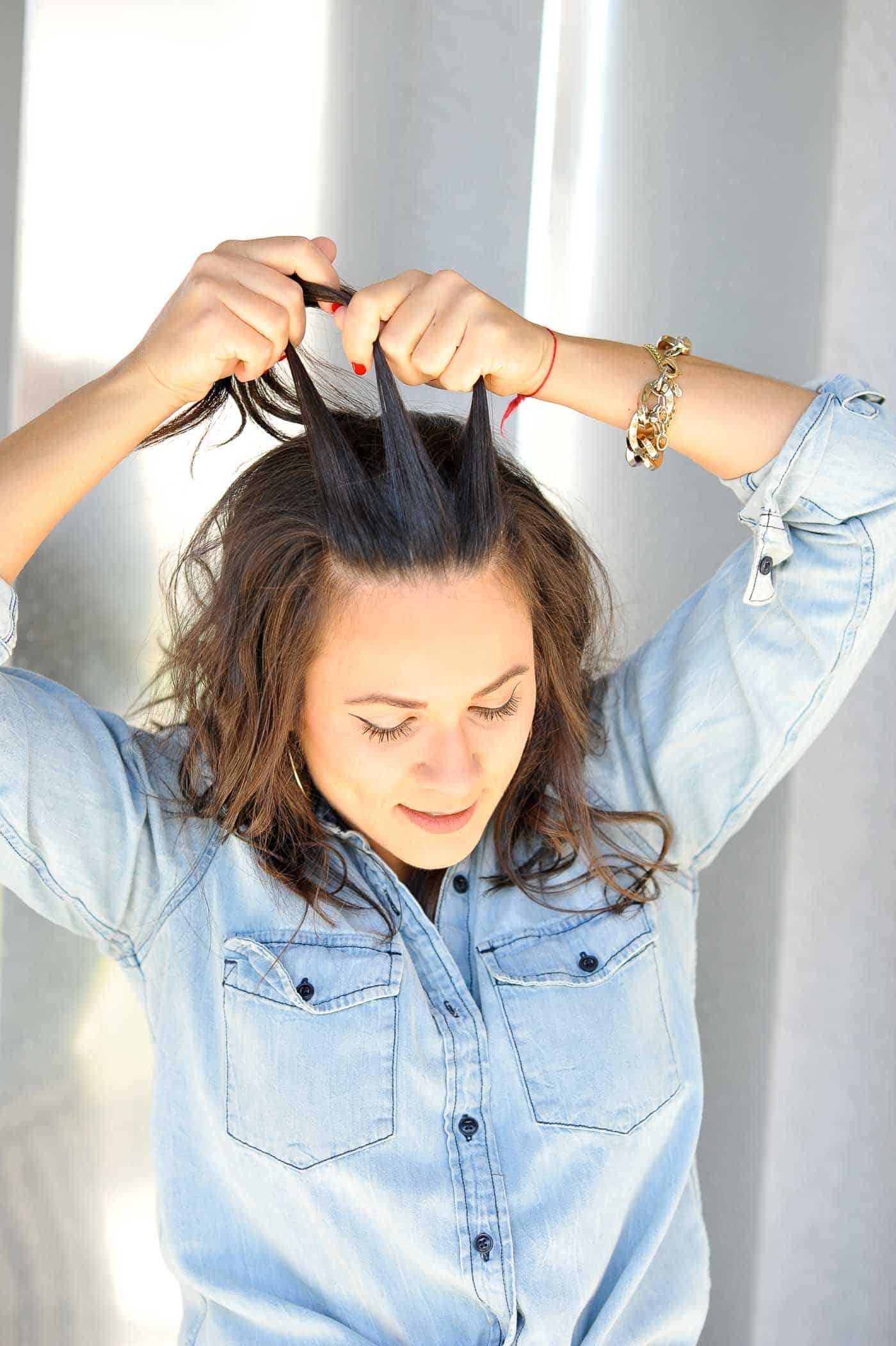 braided half up half down hairstyle - how to braid your hair - My Style Vita @mystylevita